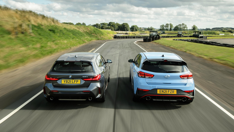 Hyundai i30N and BMW 128ti