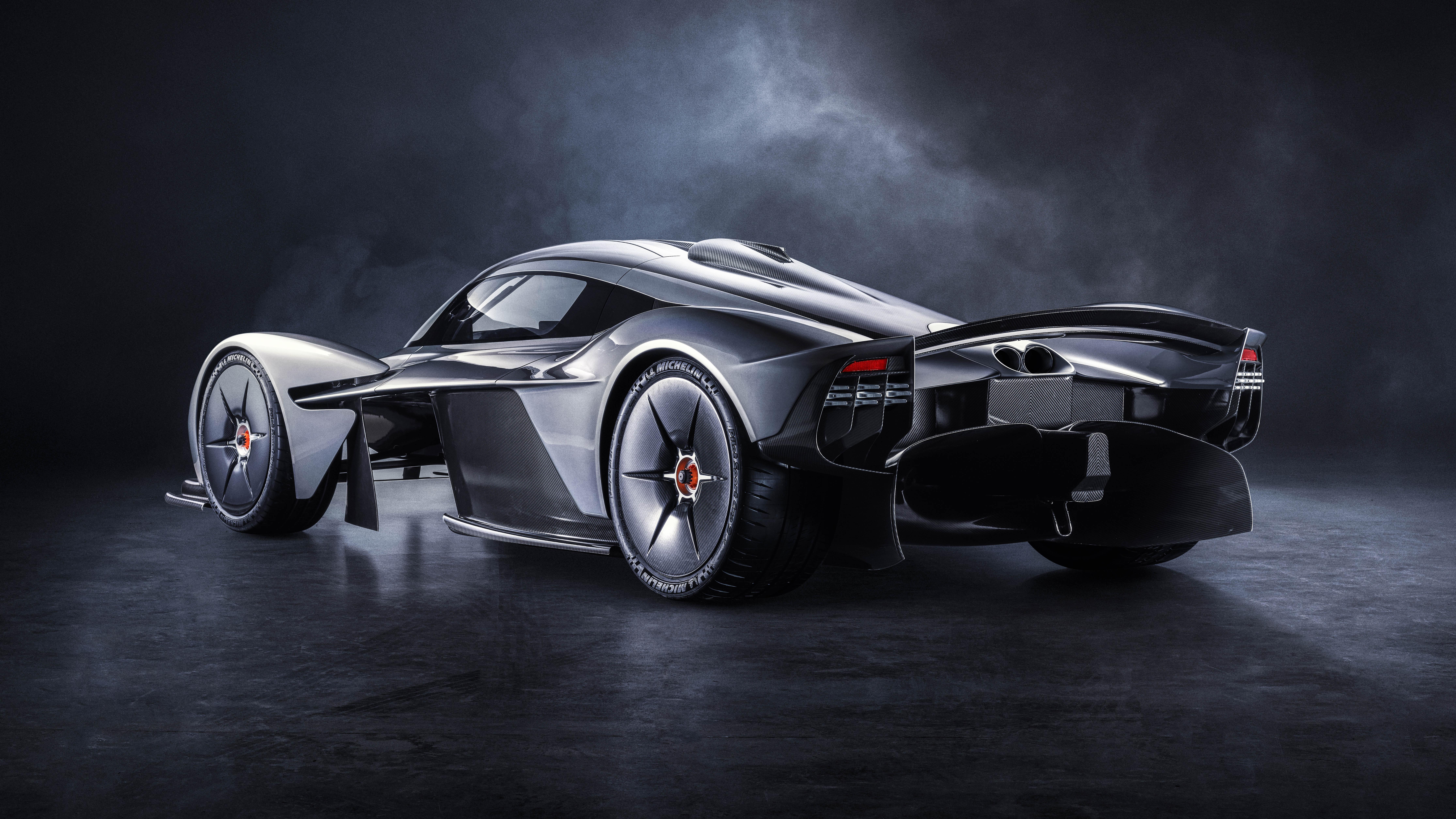 Aston Martin Valkyrie rear quarter