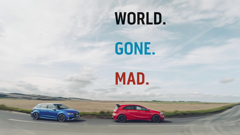 RS3 Sportback vs A45 AMG