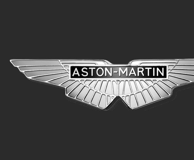 how to draw aston martin logo