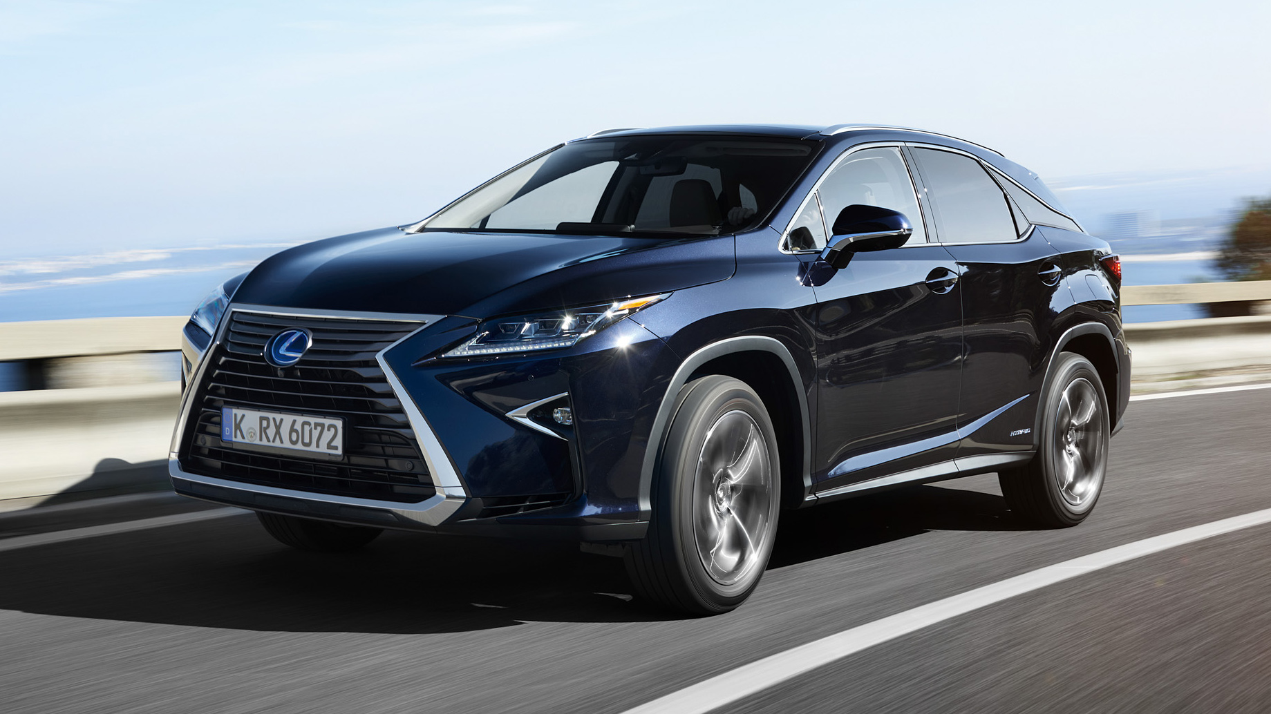 First drive: the new Lexus RX450h | Top Gear