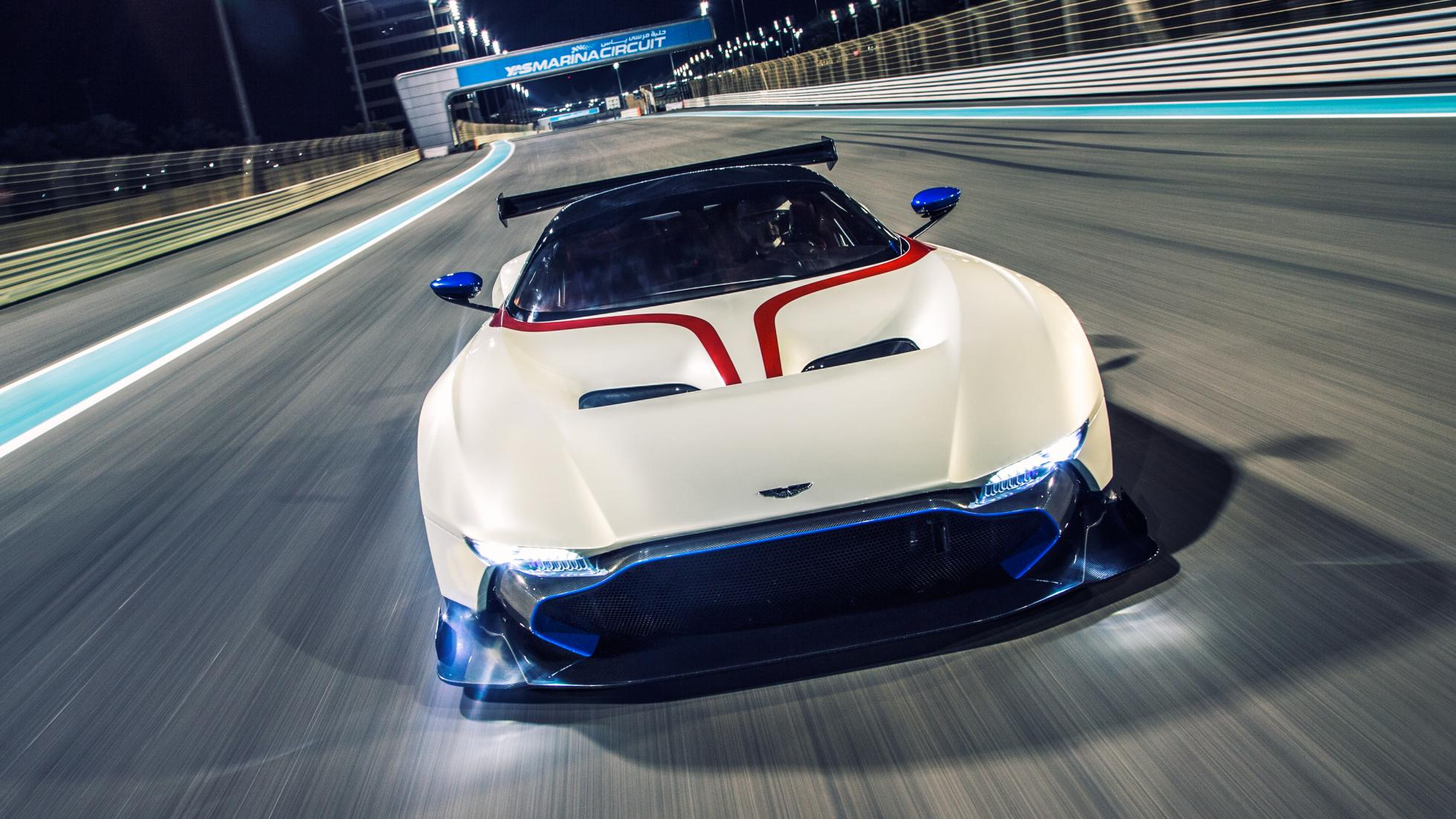 World Exclusive First Drive Aston Martin Vulcan Top Gear