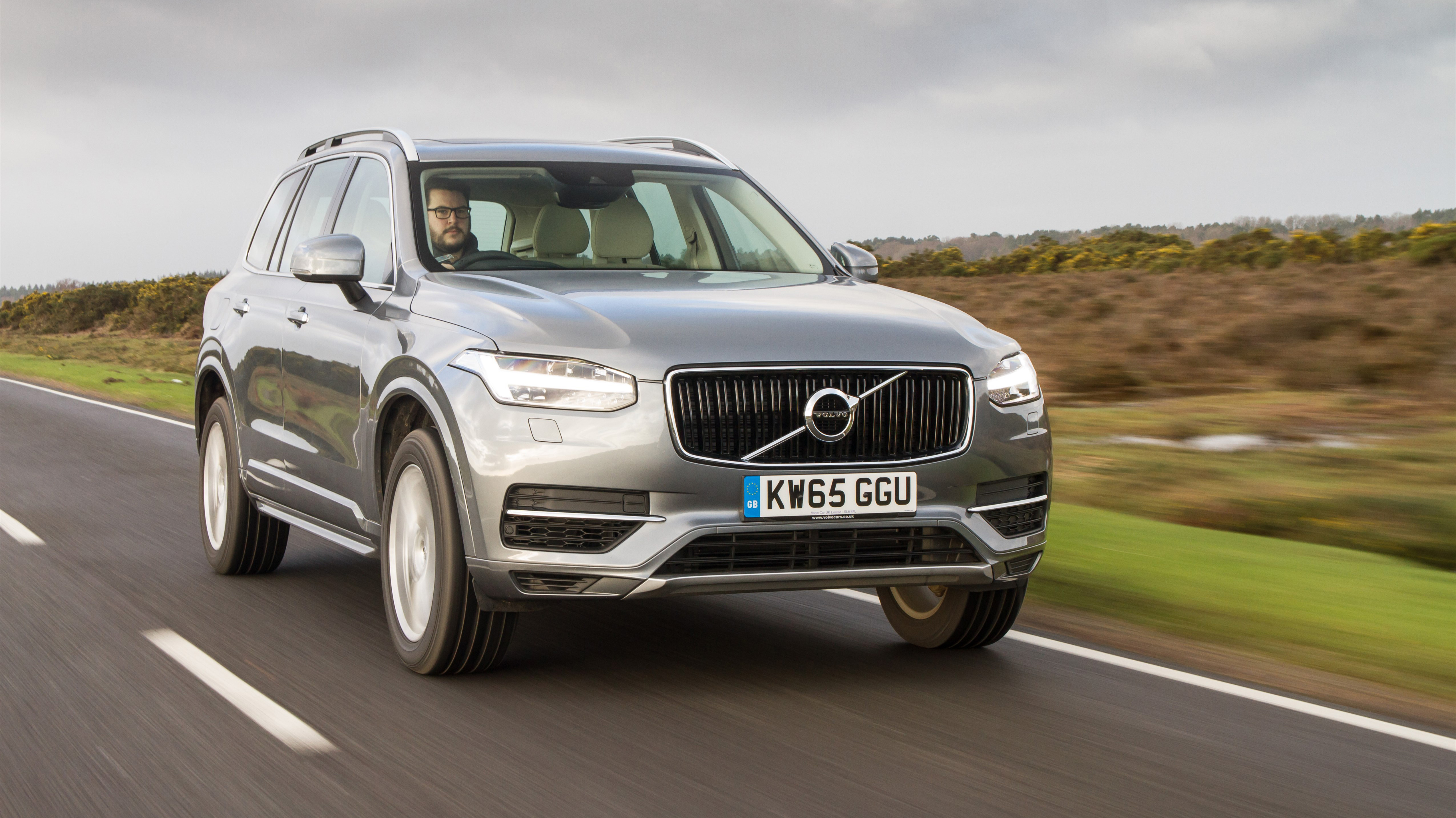 First Drive The Volvo Xc90 T8