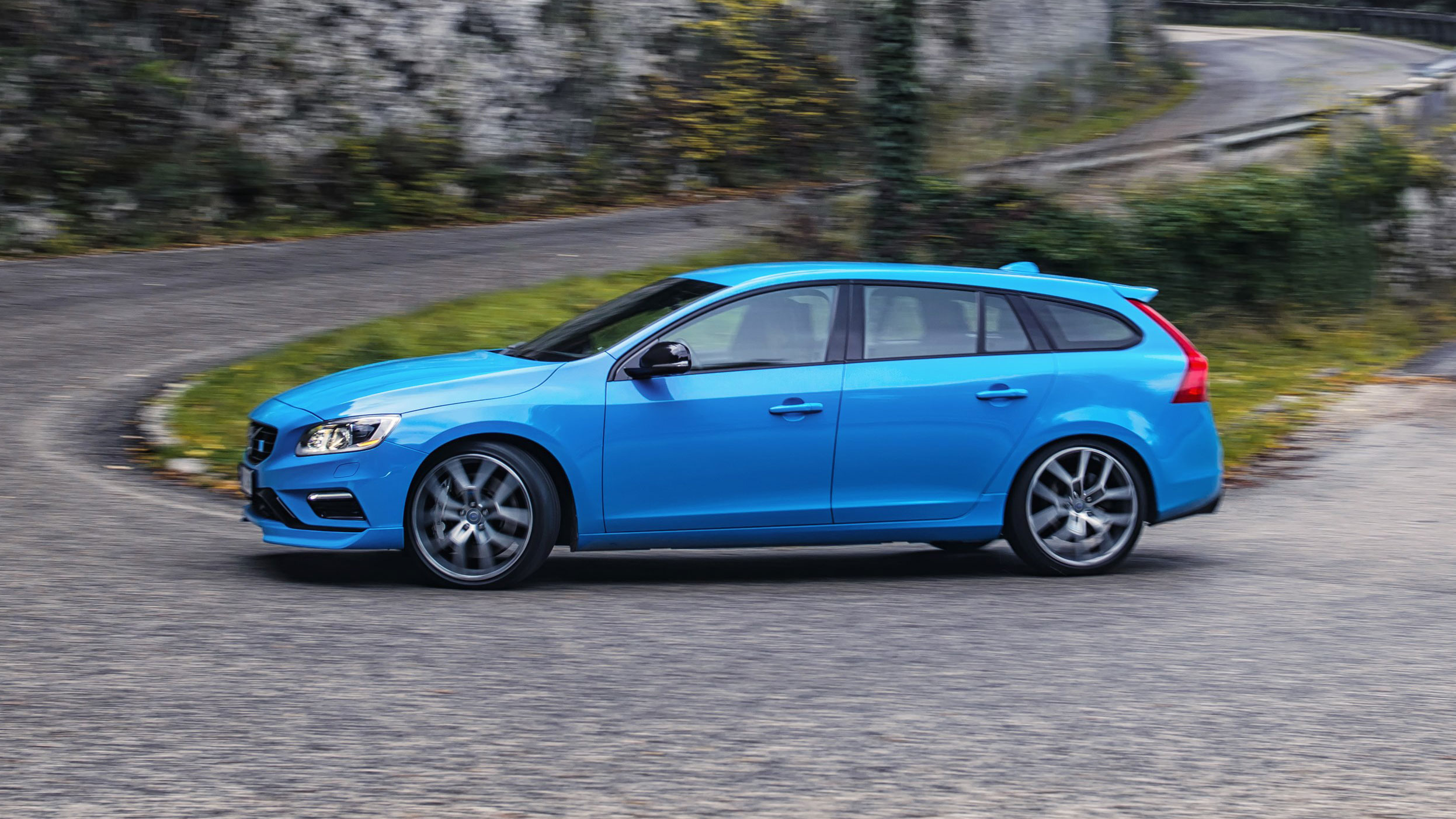 First drive: the new 362bhp four-cylinder Volvo V60 Polestar