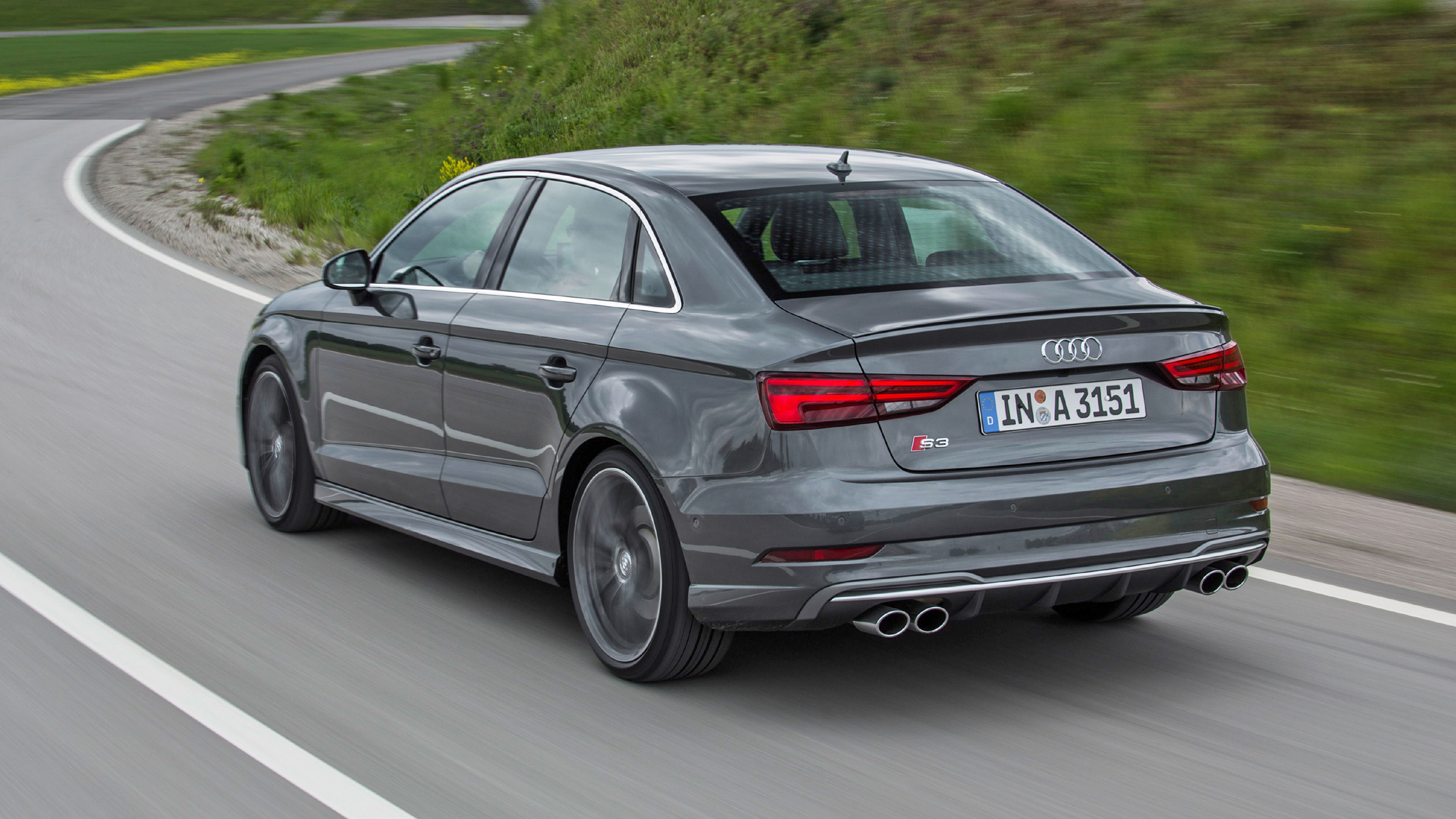 Review The New 306bhp Audi S3 Quattro 2016 2018 Top Gear