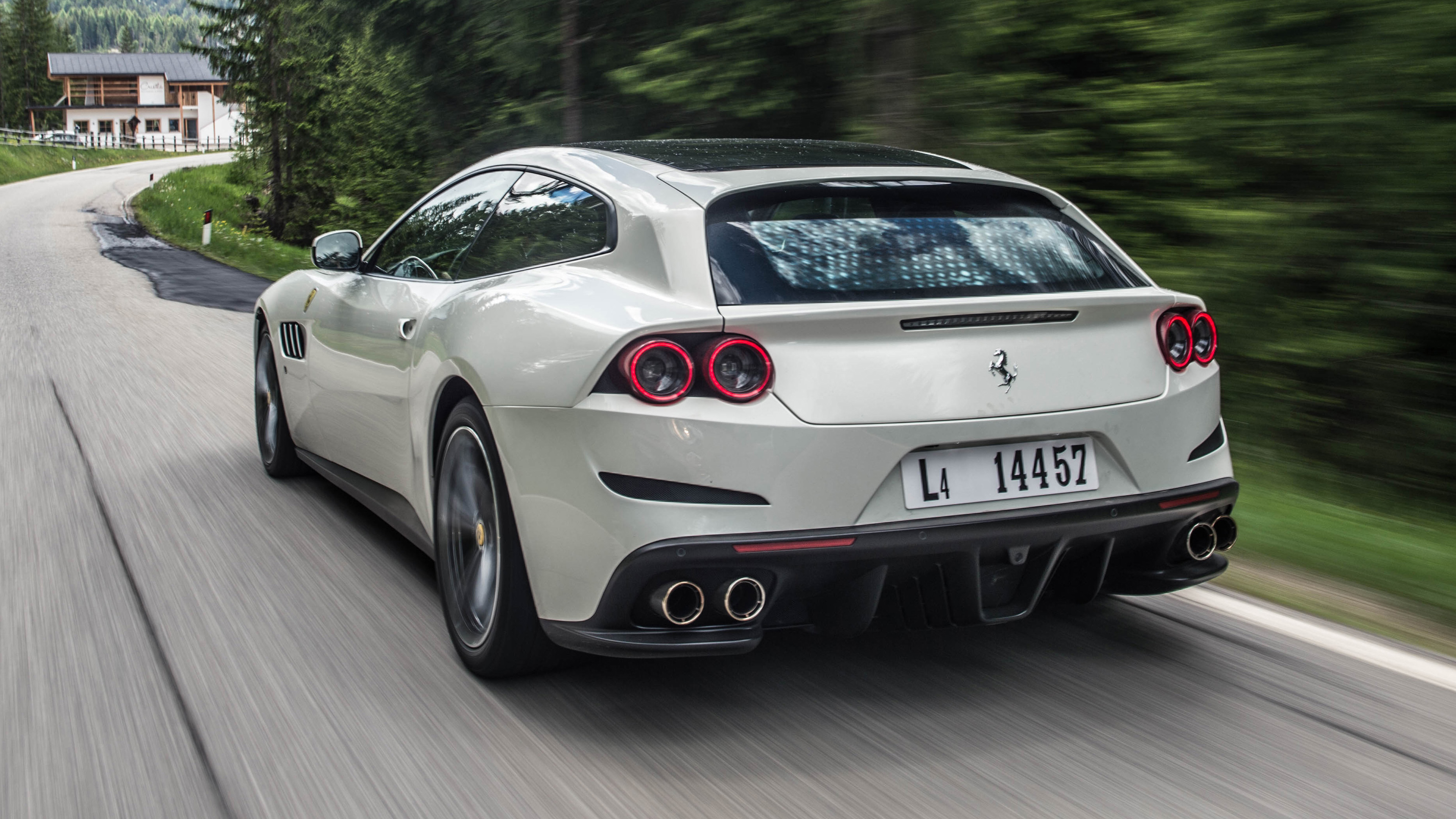 Review The New Ferrari Gtc4lusso Top Gear