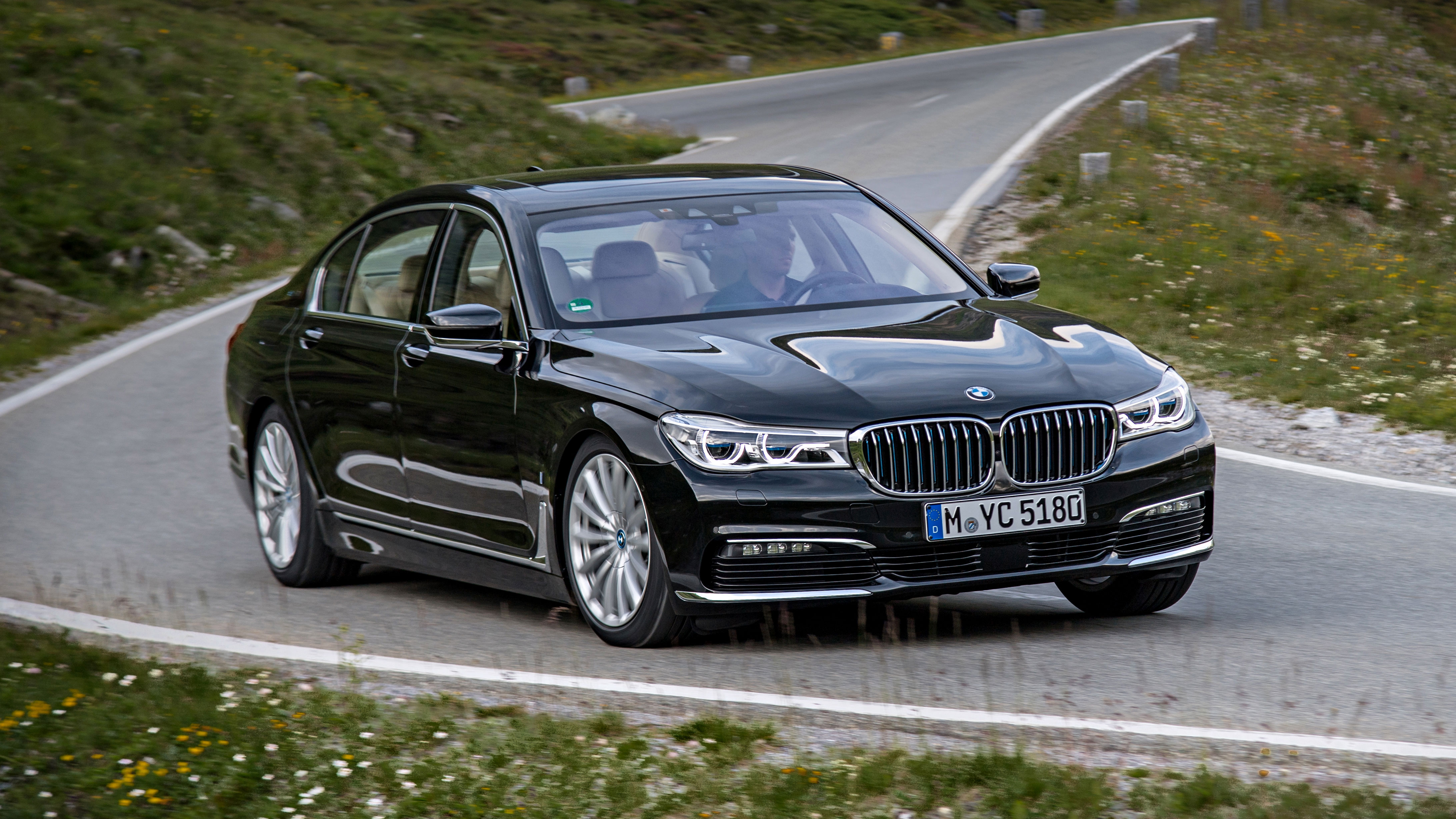 7 Series Top Gear Modified Bmw 740li Review The 740e Iperformance