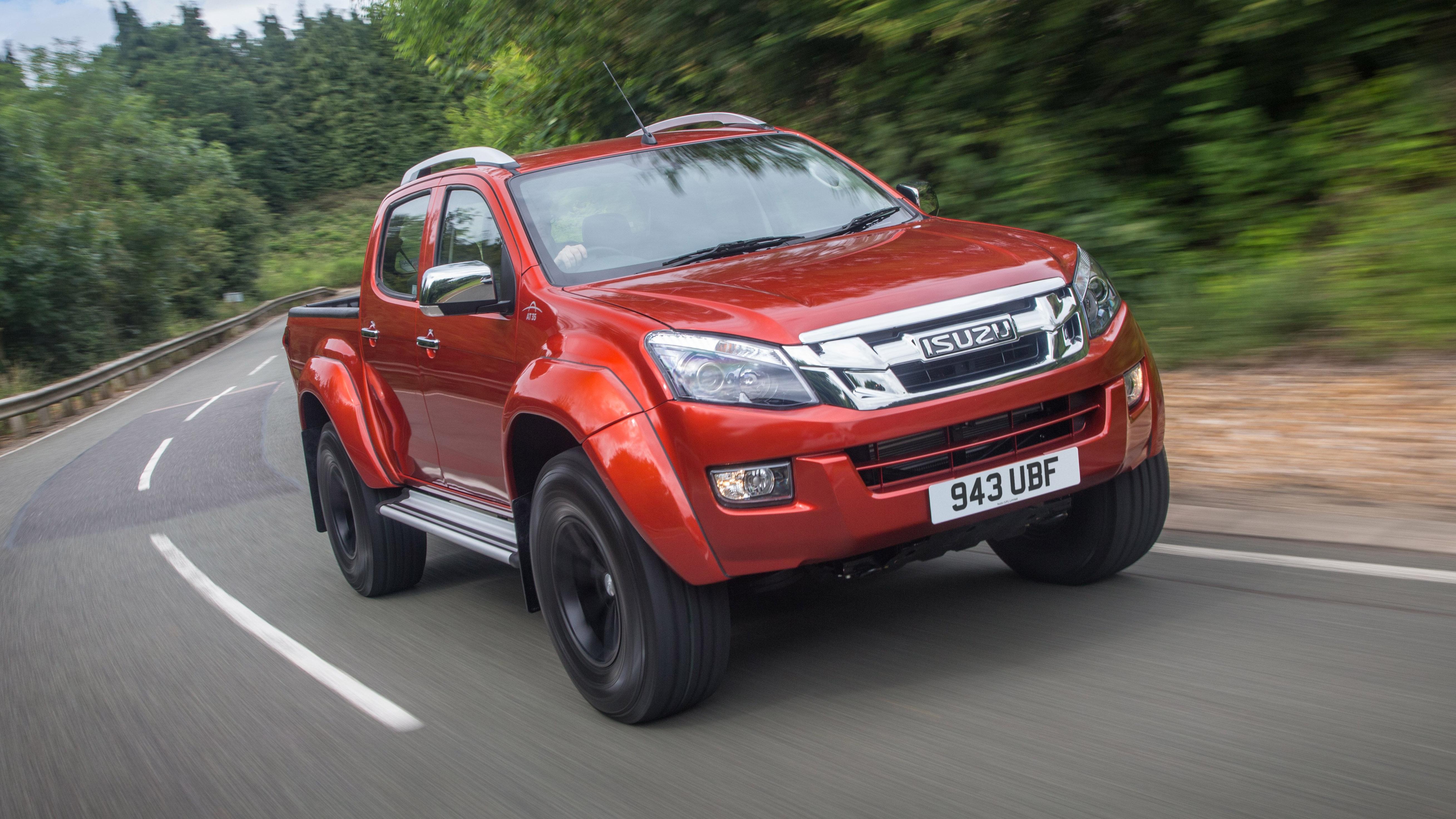 Isuzu D-Max Arctic Trucks AT35 review | Top Gear