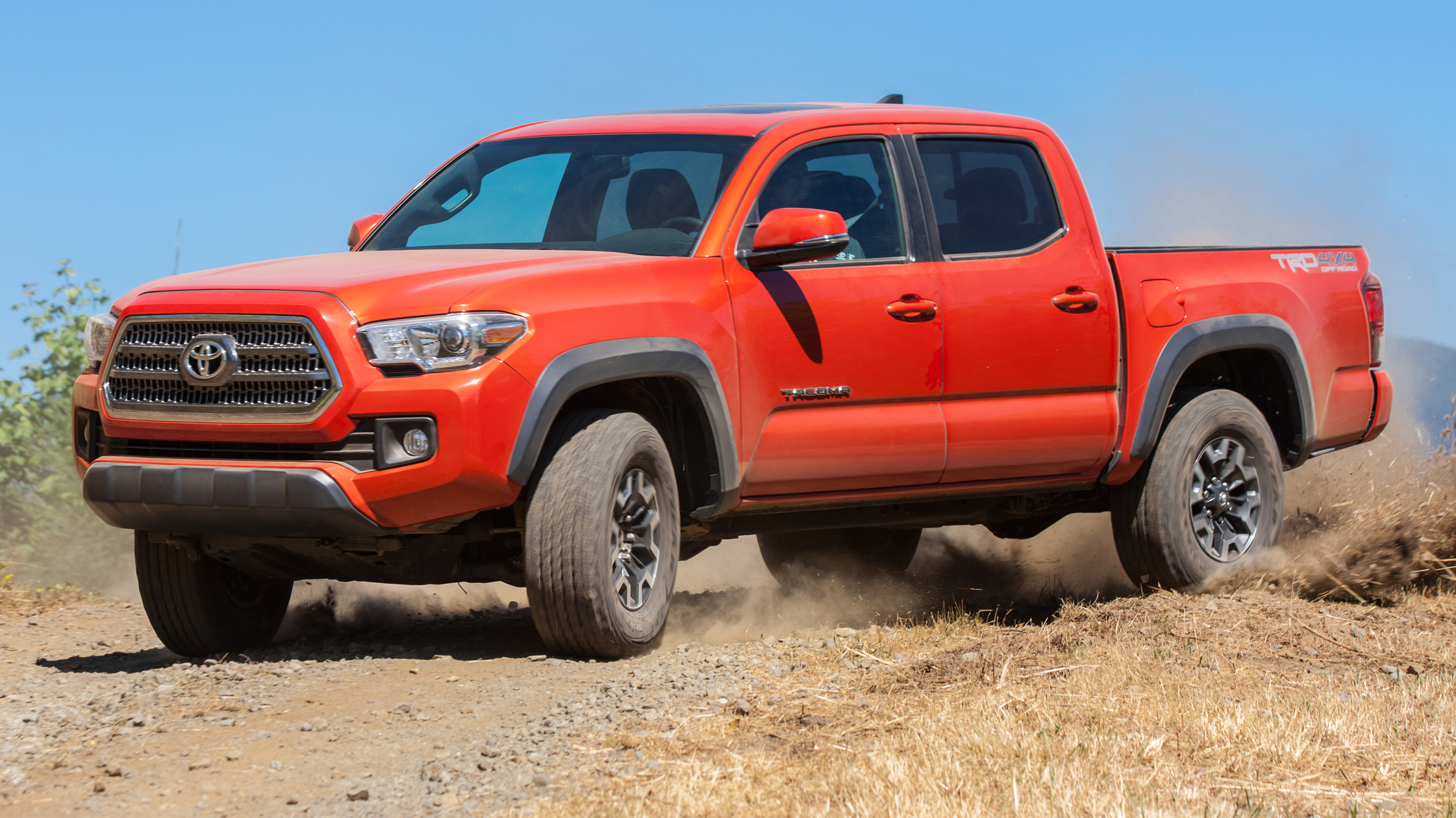 Toyota Tacoma Trd Review America S Tuned Up Hilux Top Gear