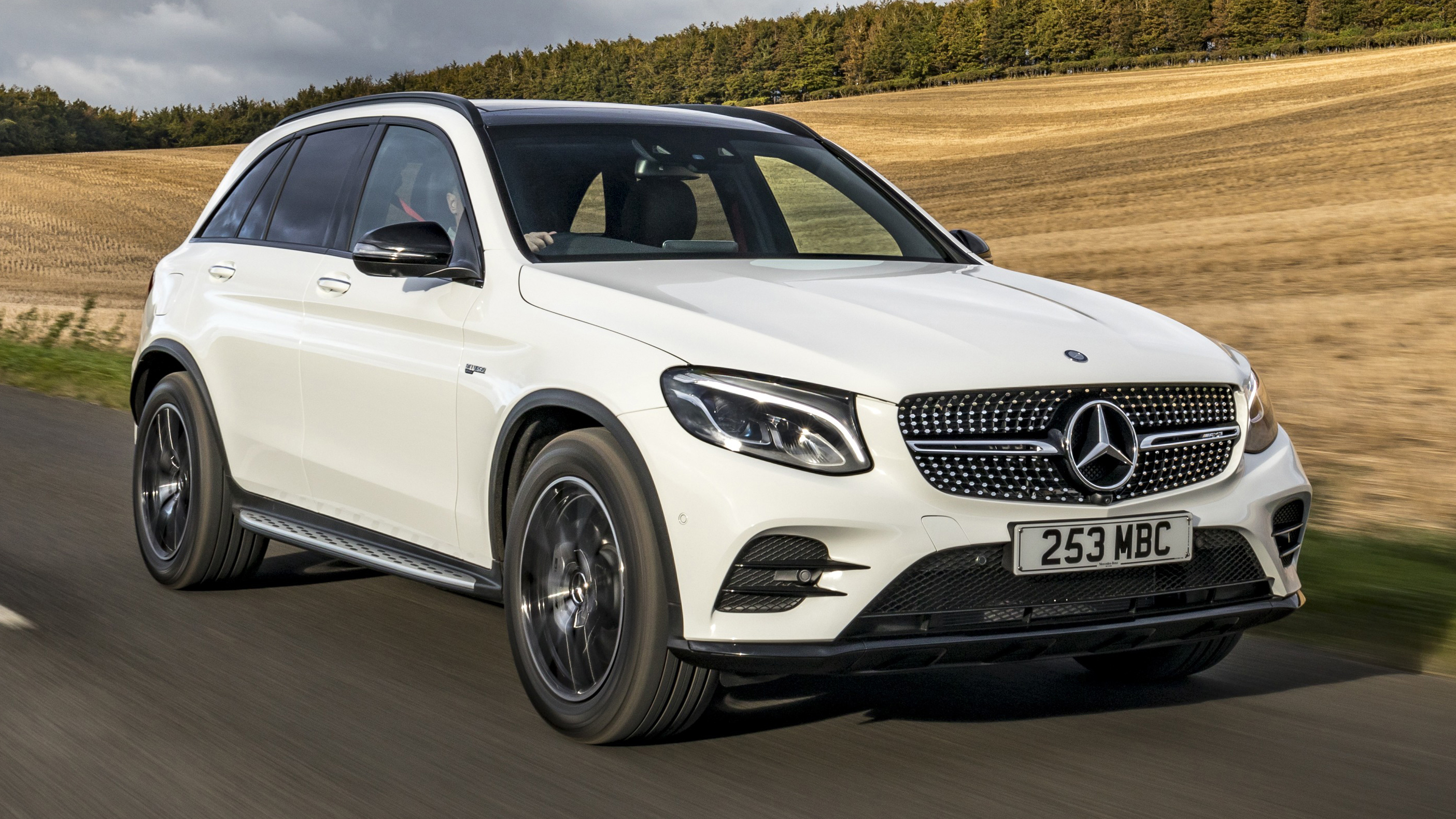 Mercedes-AMG GLC43 review: 362bhp crossover tested   Top Gear