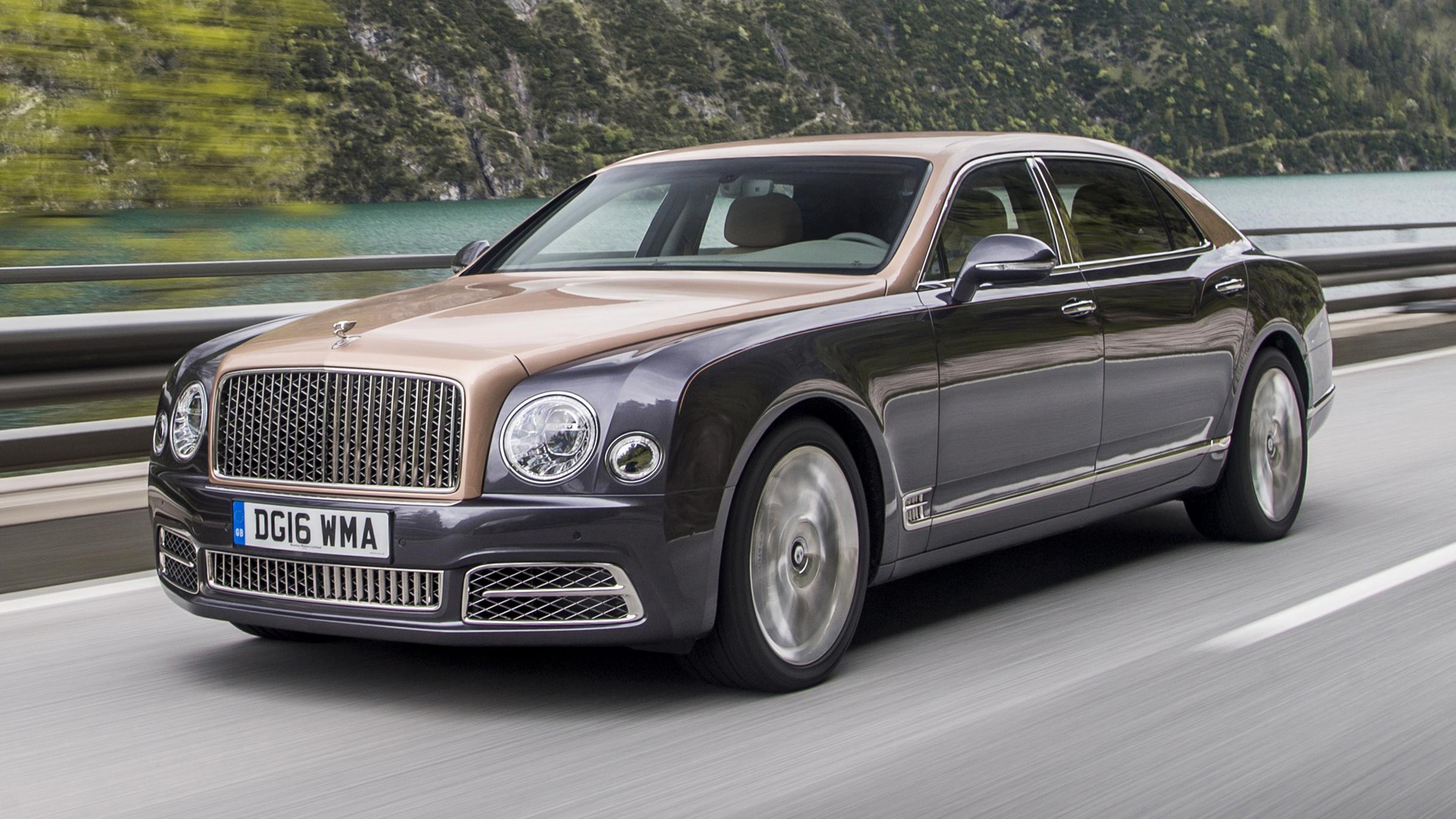 Bentley Mulsanne EWB front