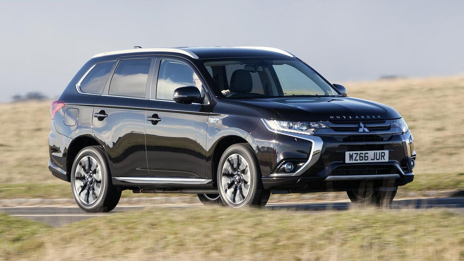 Mitsubishi Outlander PHEV review: plug-in SUV driven (2016