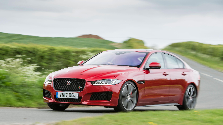Jaguar XE S red