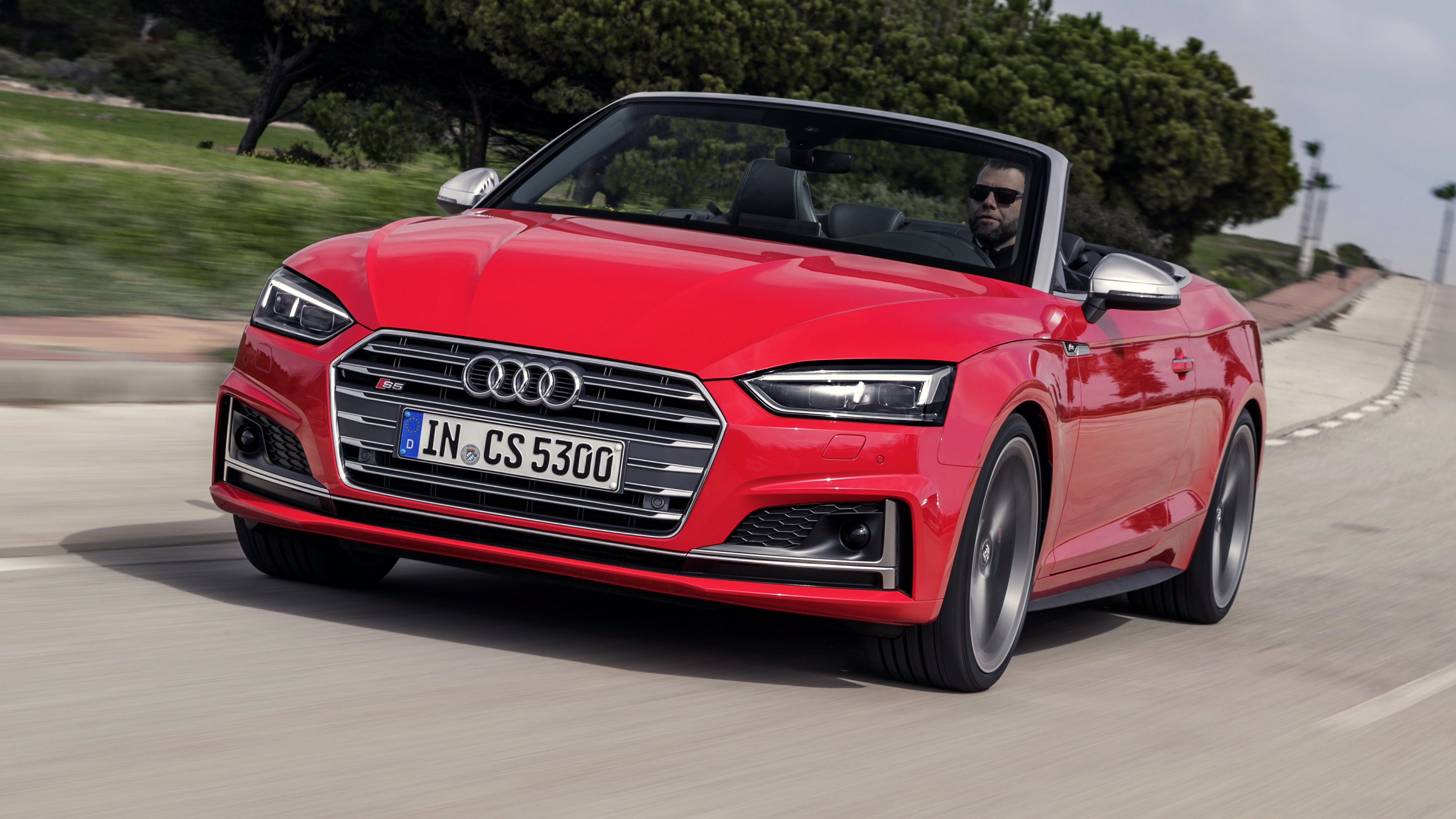 Audi S5 Cabriolet Review Quick V6 Cabrio Driven 2017 2018 Top Gear