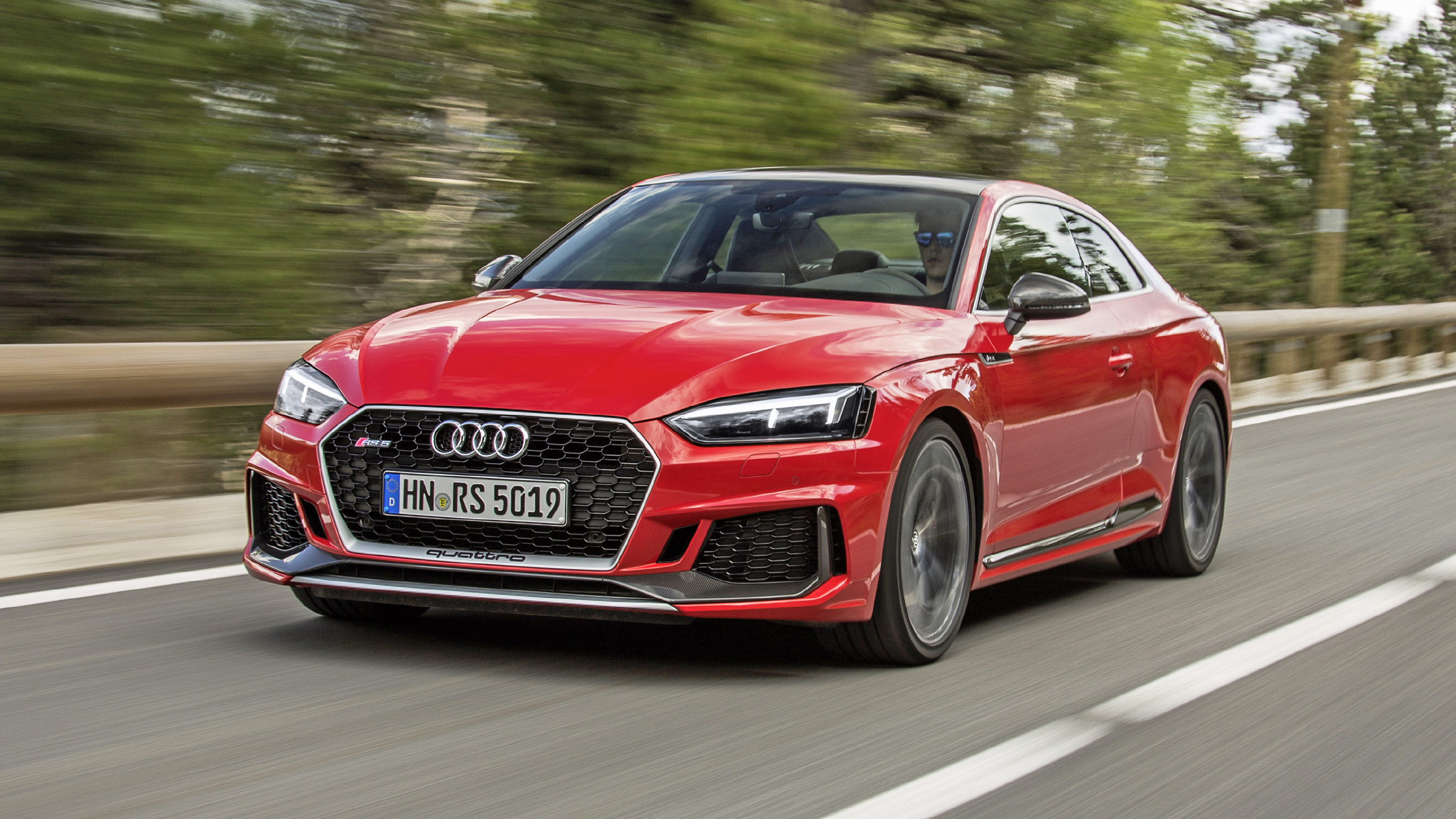Audi Rs5 Coupe Review 444bhp Bmw M4 Rival Tested 2017 2018 Top Gear