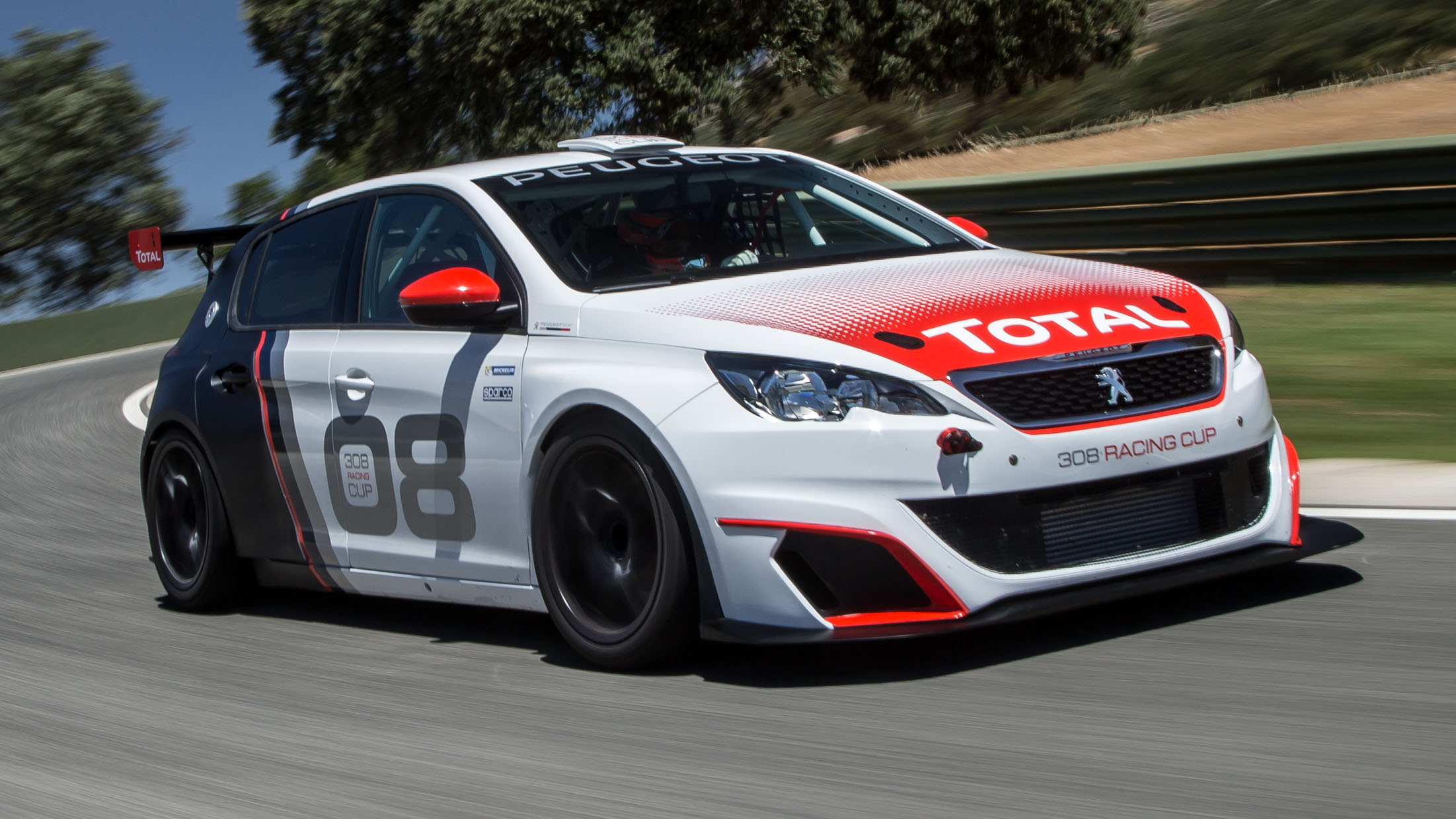 Peugeot 308 GTI Racing Cup front quarter