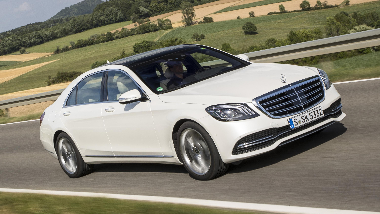 Mercedes-Benz S-Class front quarter