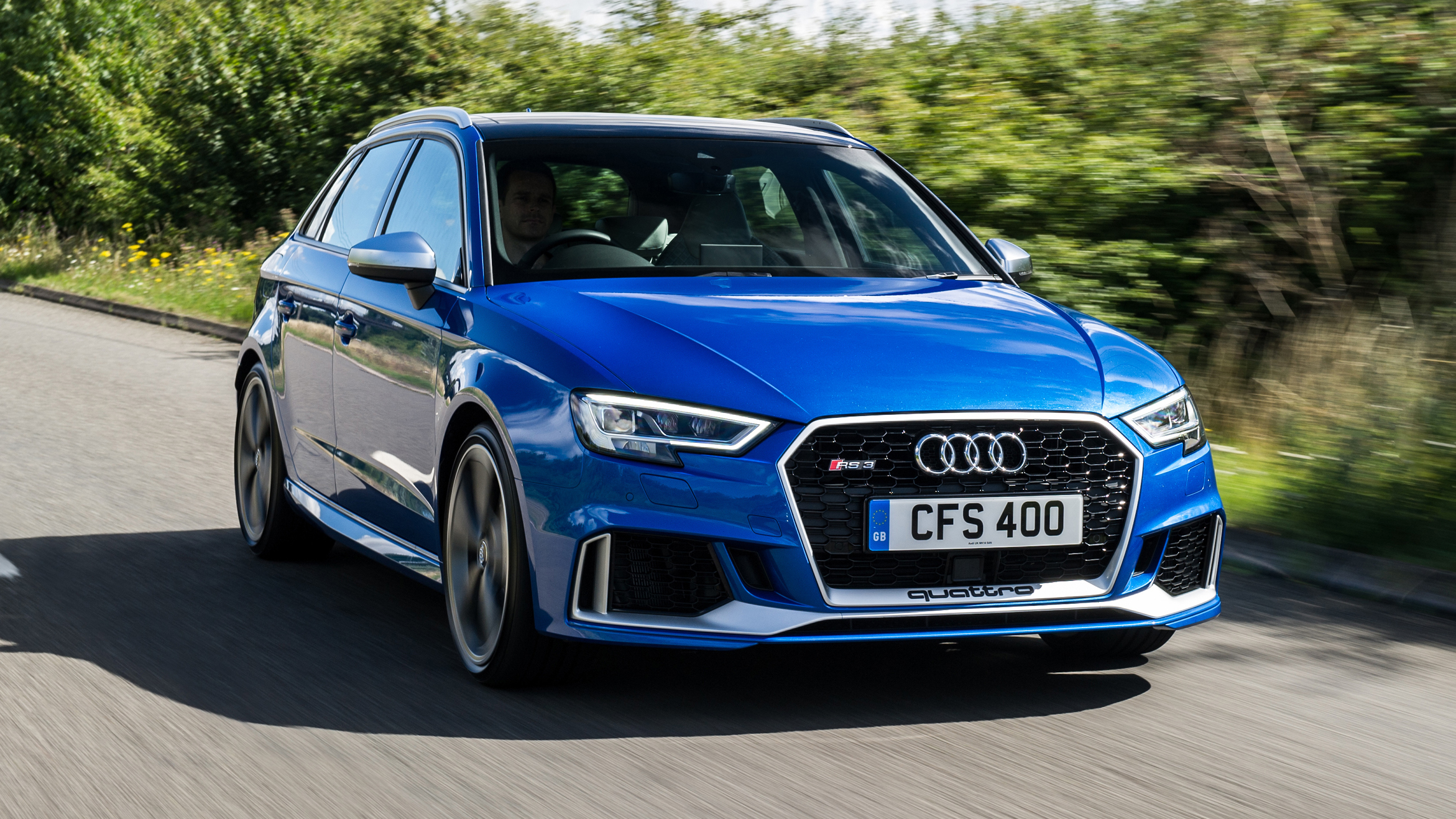 Audi RS3 Sportback review: UK test of new 395bhp hatch (2017