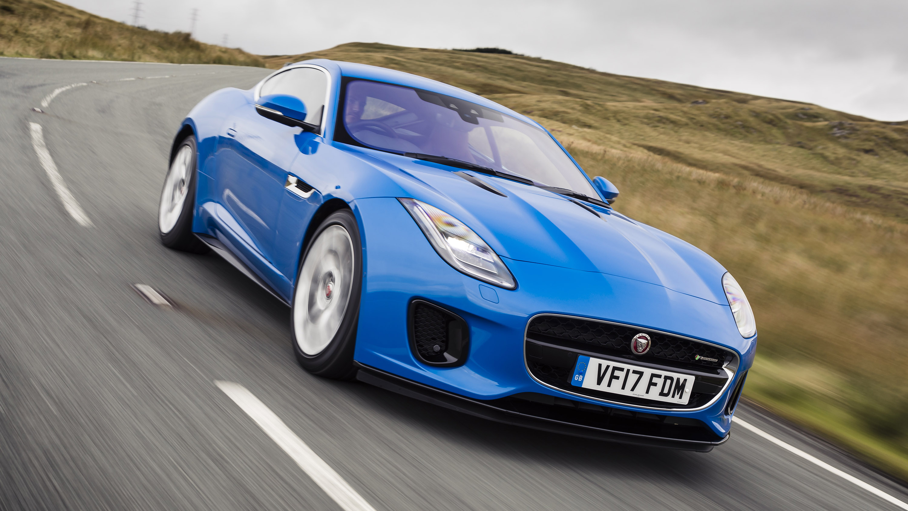Jaguar F-Type front quarter