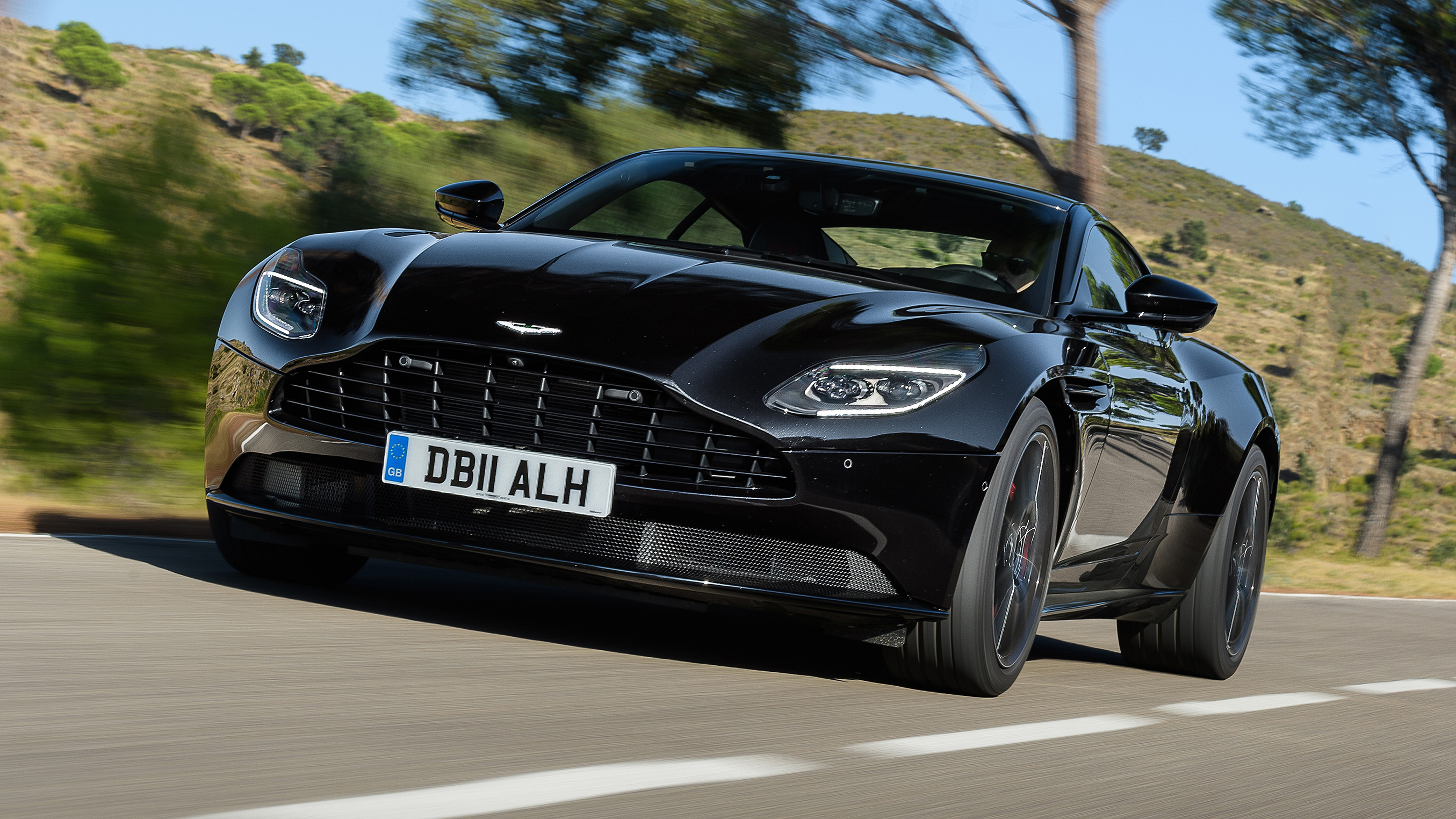 Aston Martin Db11 Review Amg V8 Makes The Db11 Wilder Top Gear