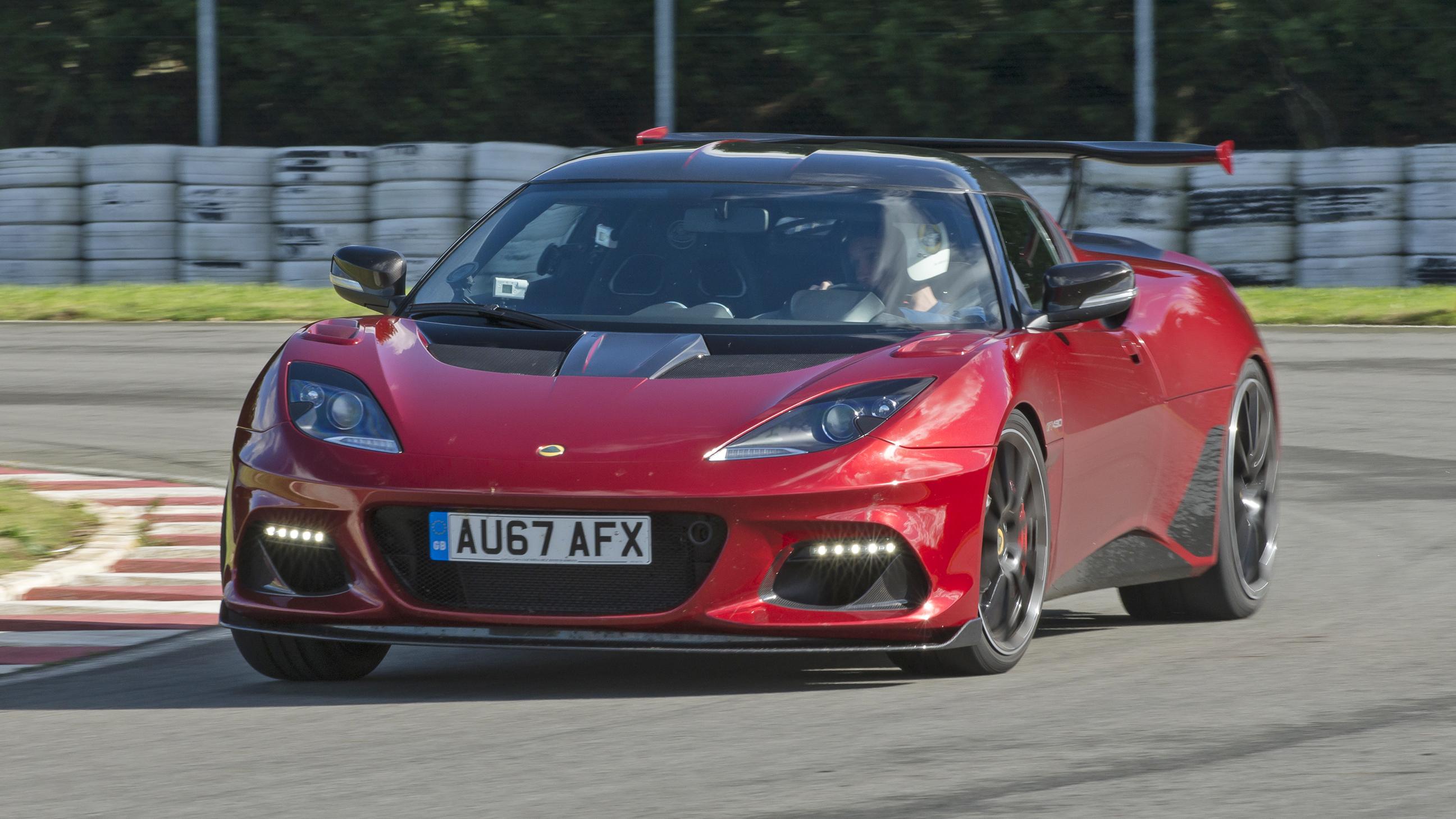 Lotus Evora GT430 front action