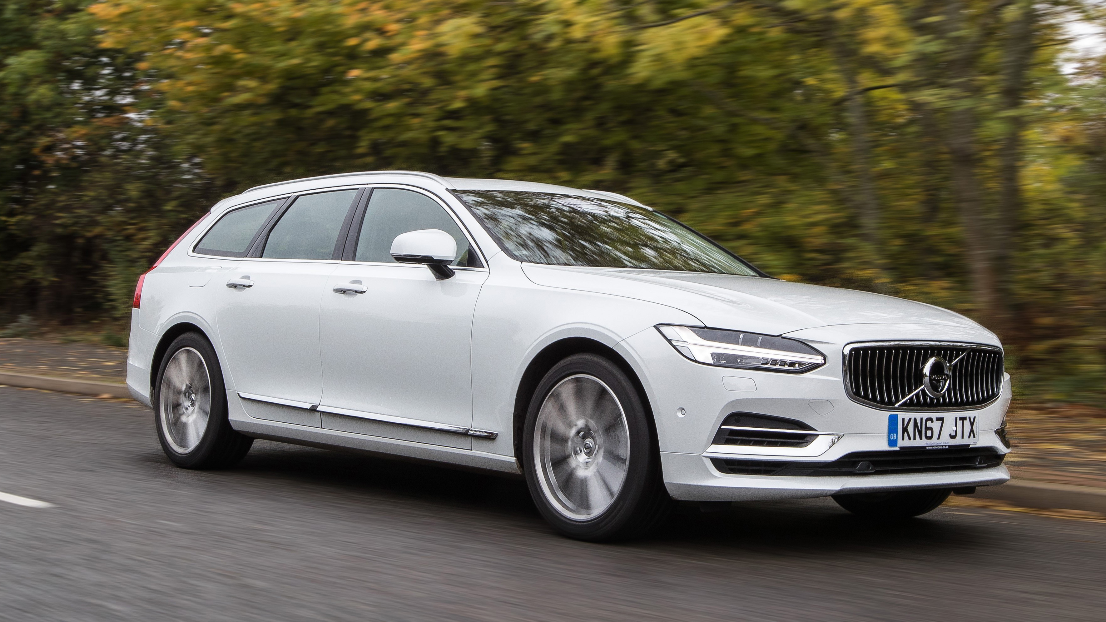 Volvo V90 T8 Twin Engine Review Phev Wagon Tested 2017