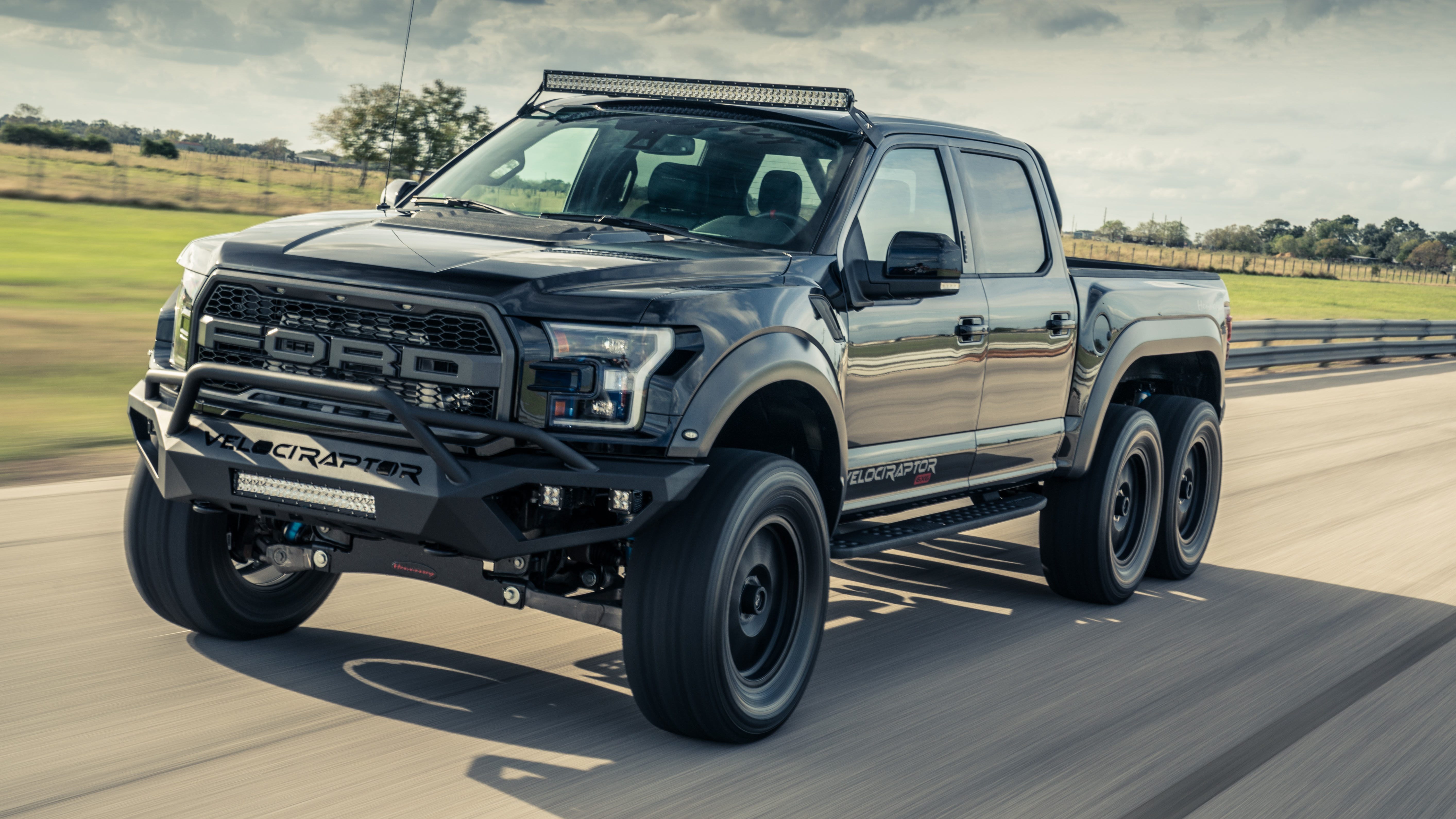 First Drive Hennesseys 600bhp Six Wheeled Ford Raptor