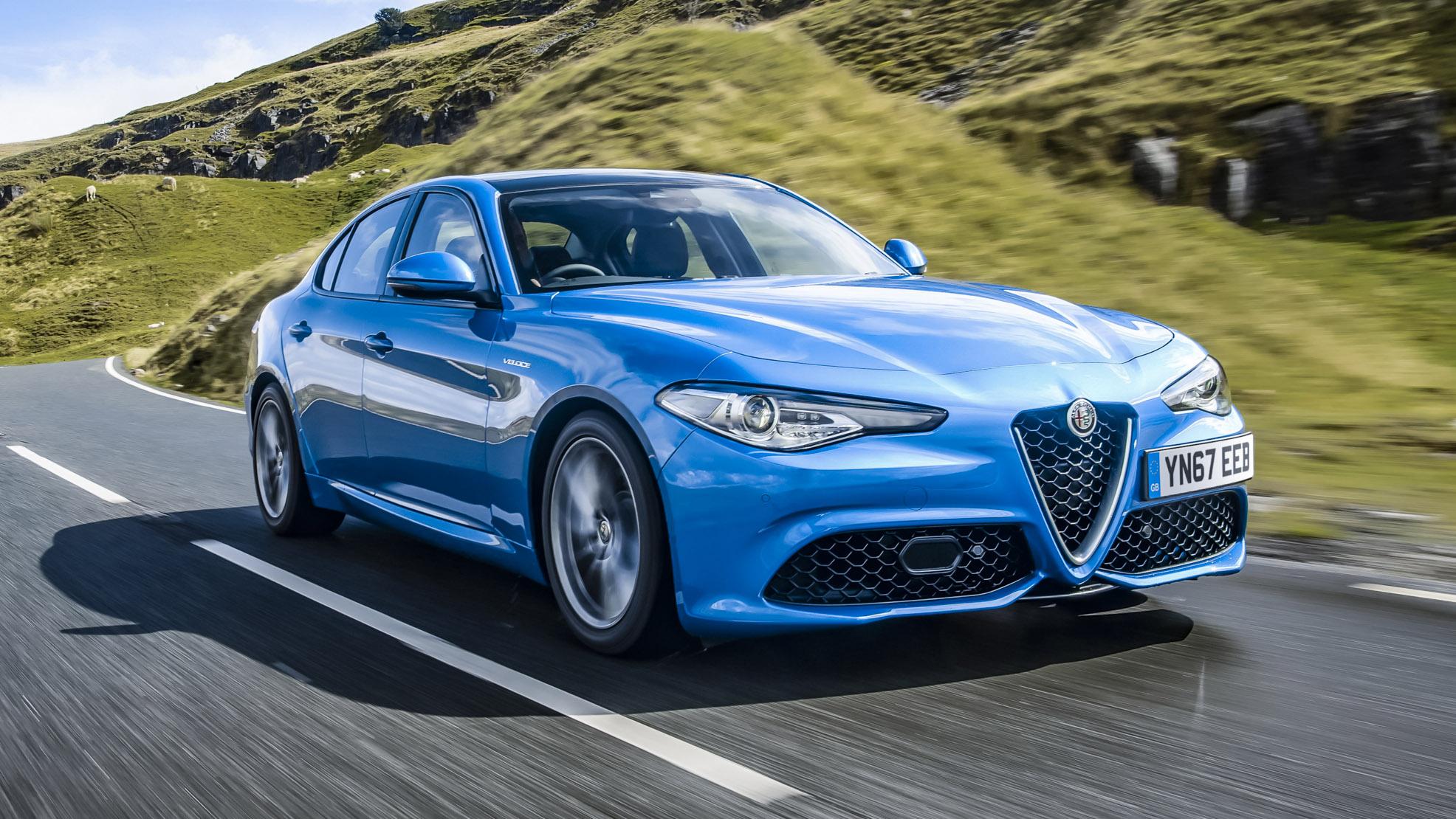 Alfa Romeo Giulia Review 280bhp Veloce Driven Top Gear