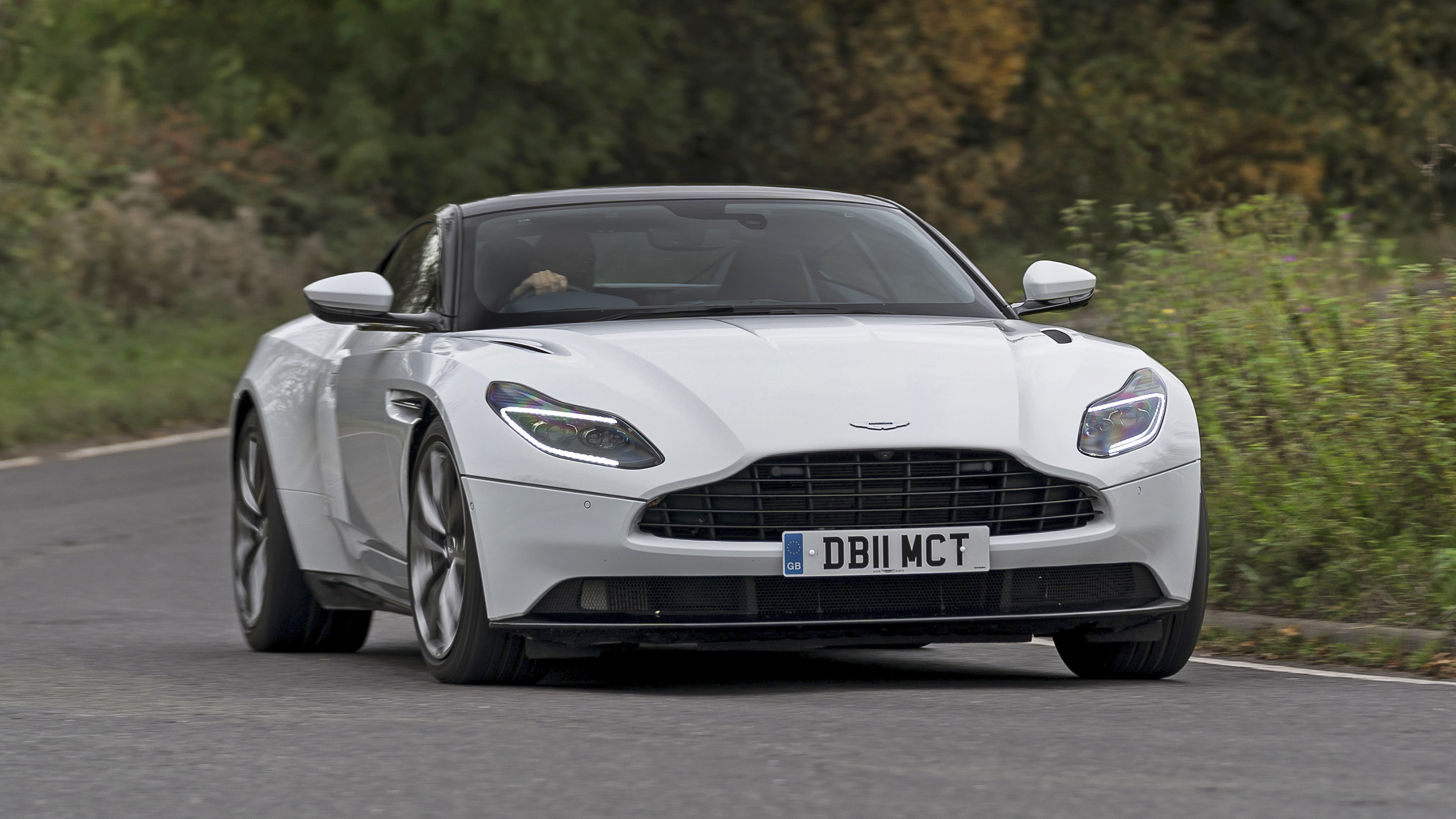 Aston Martin Db11 V8 Review Amg Powered Gt On Uk Roads Top Gear