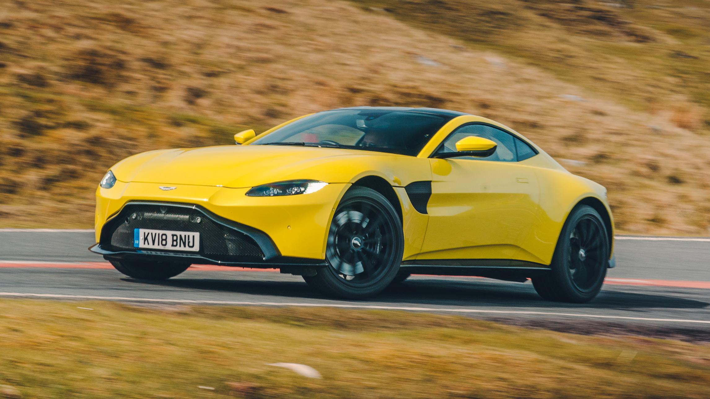 Aston Martin Vantage Review New V8 Driven In Britain Top Gear