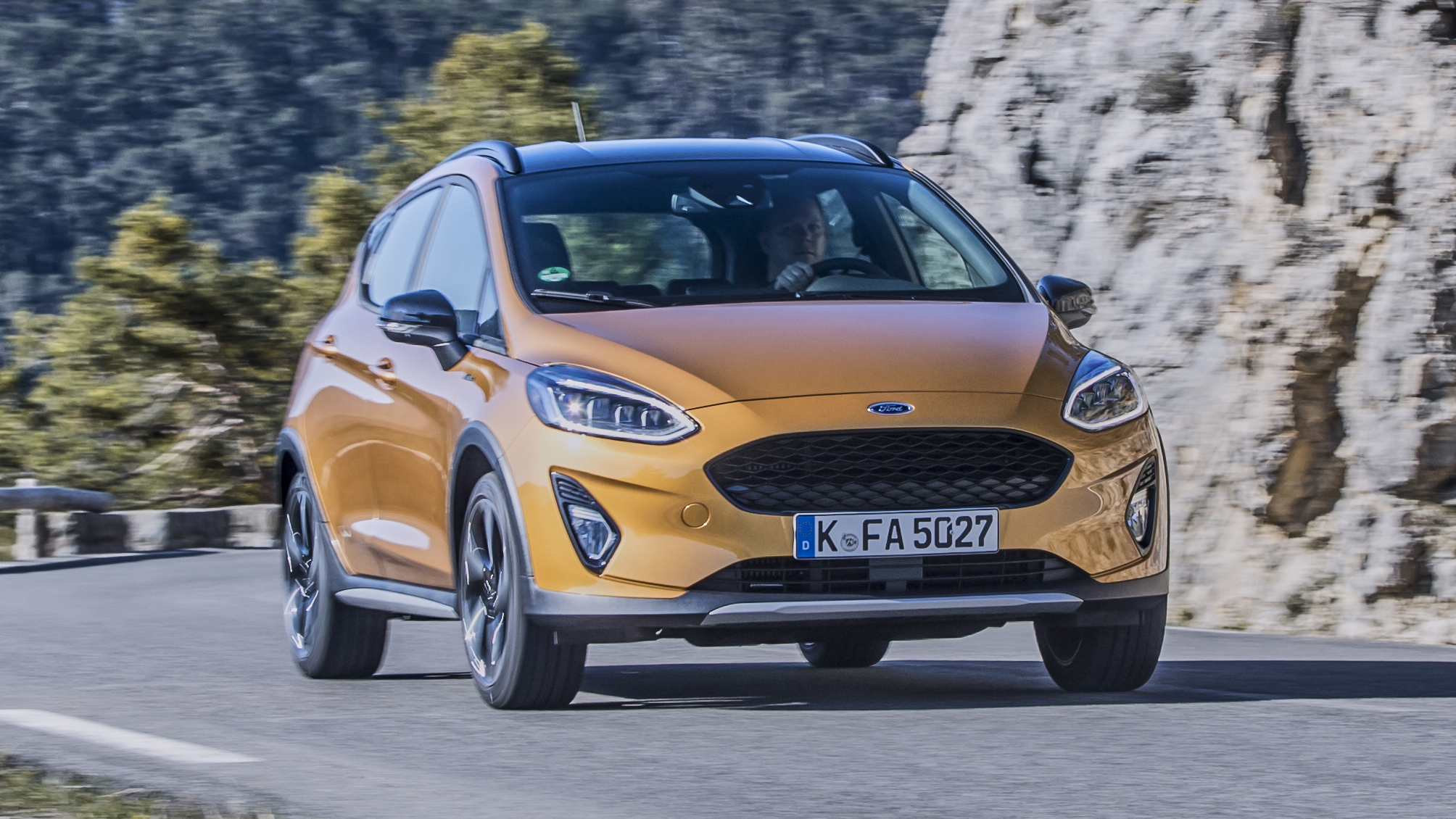 Ford Fiesta Active review: baby crossover tested | Top Gear