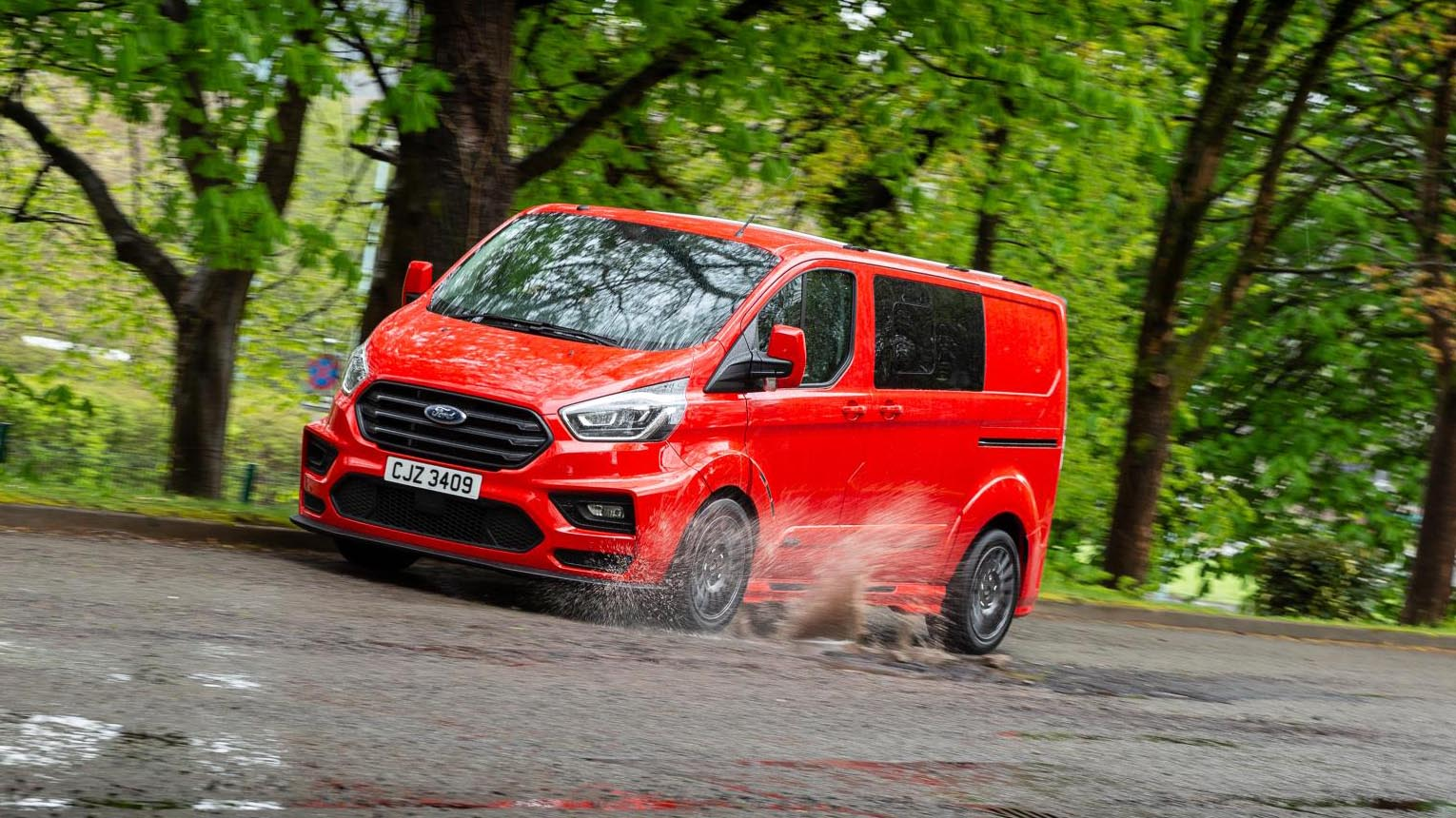 MS-RT Ford Transit Custom review: £33k sports-van driven