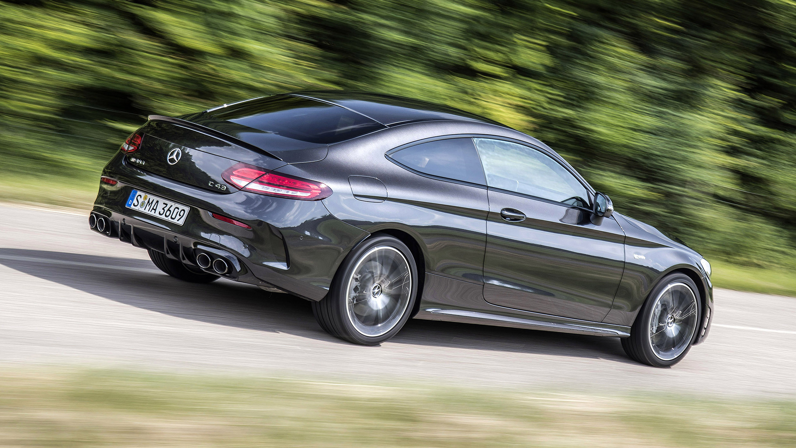 Mercedes-AMG C43 review: new twin-turbo C-Class driven | Top