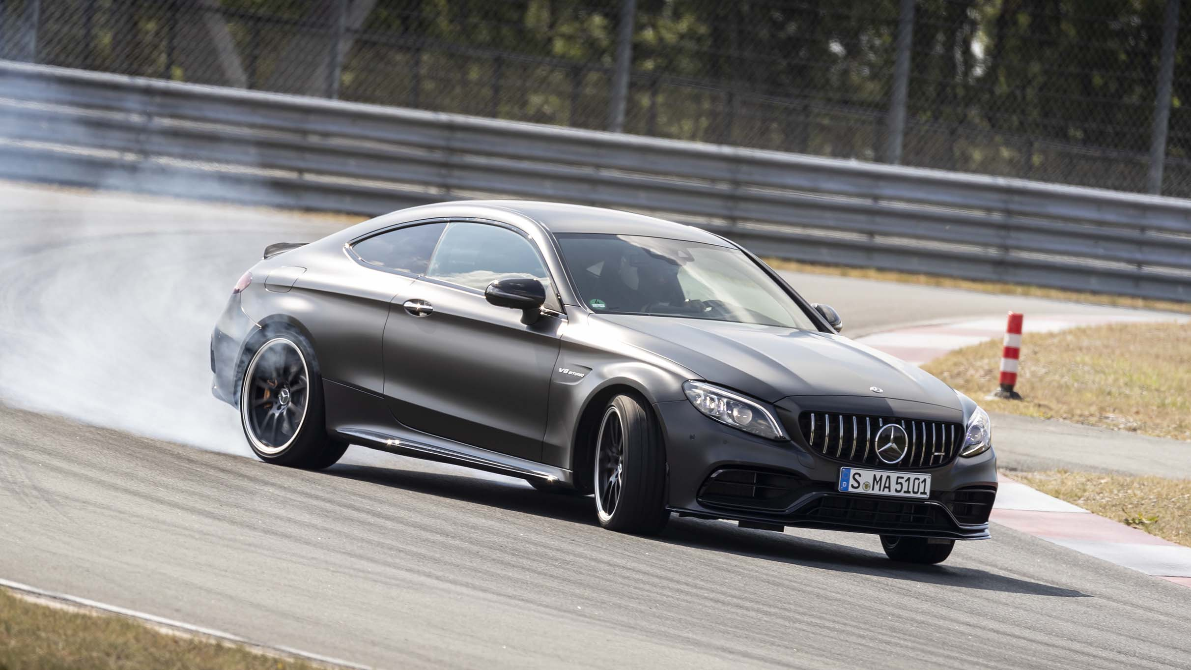 Mercedes-AMG C63 S Coupe review: 503bhp Benz driven | Top Gear