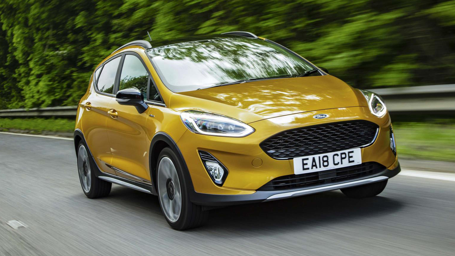 Ford Fiesta Active X Review 140bhp Crossover In The Uk Top Gear