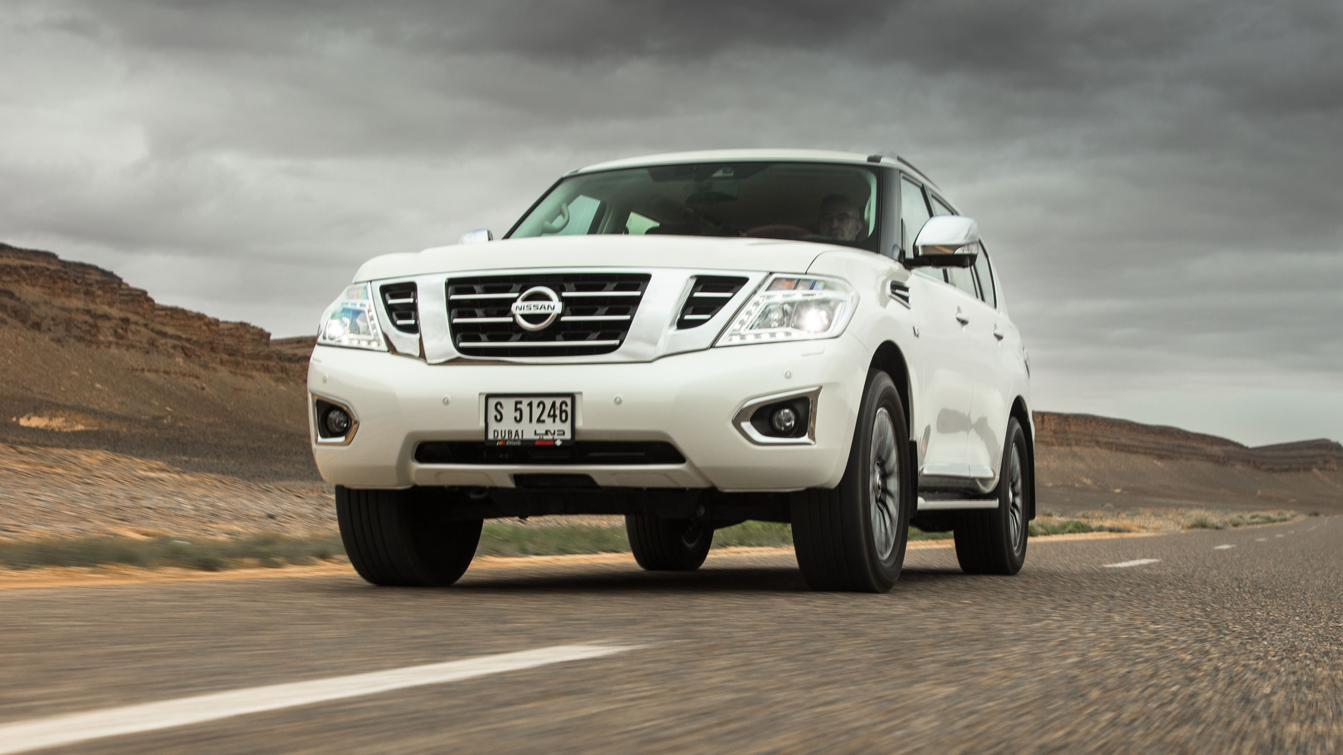Nissan Patrol review: old-school V8 SUV tested | Top Gear