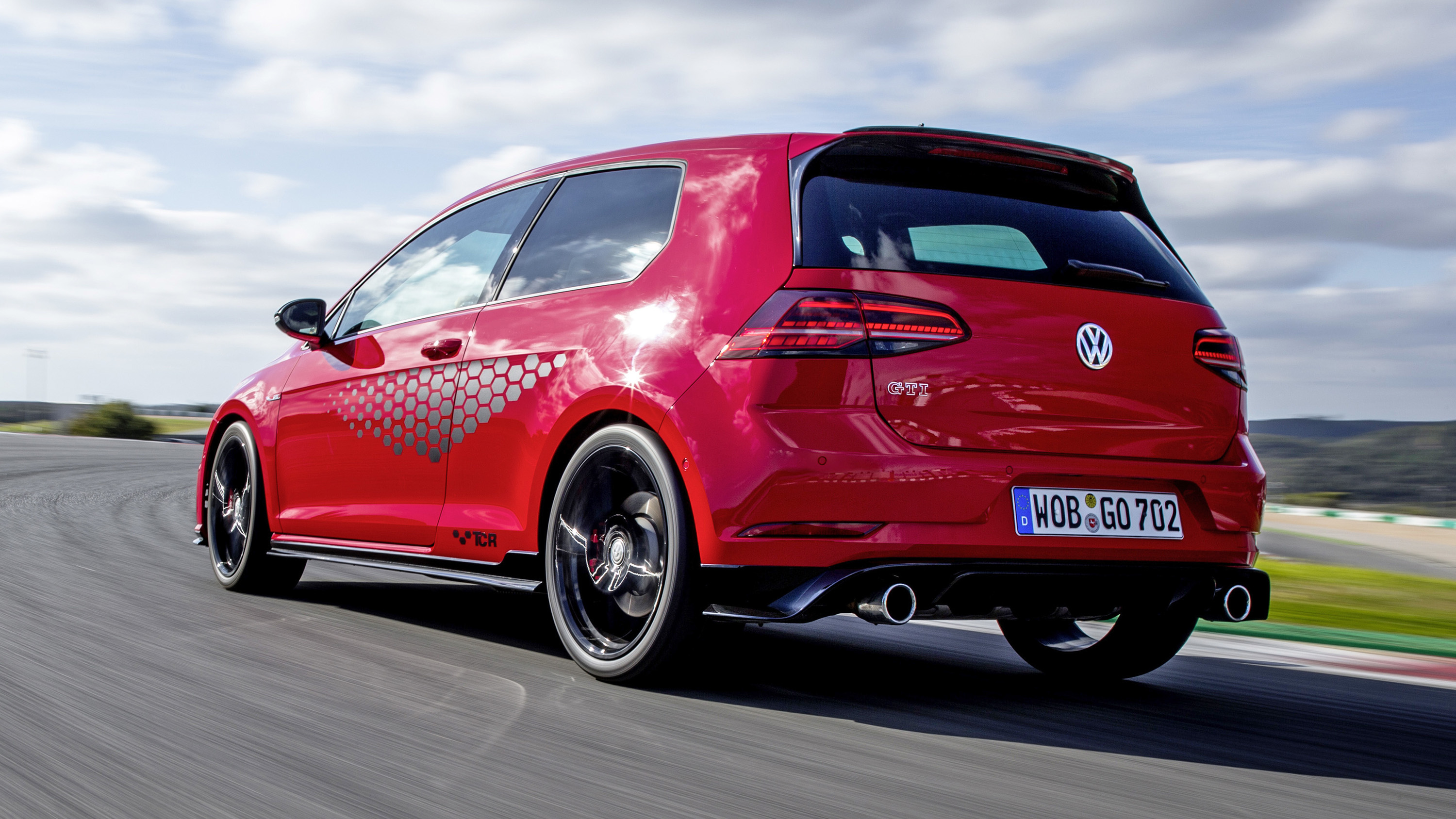 Vw Golf Gti Tcr Review Harder Edged Hot Hatch Driven Top Gear