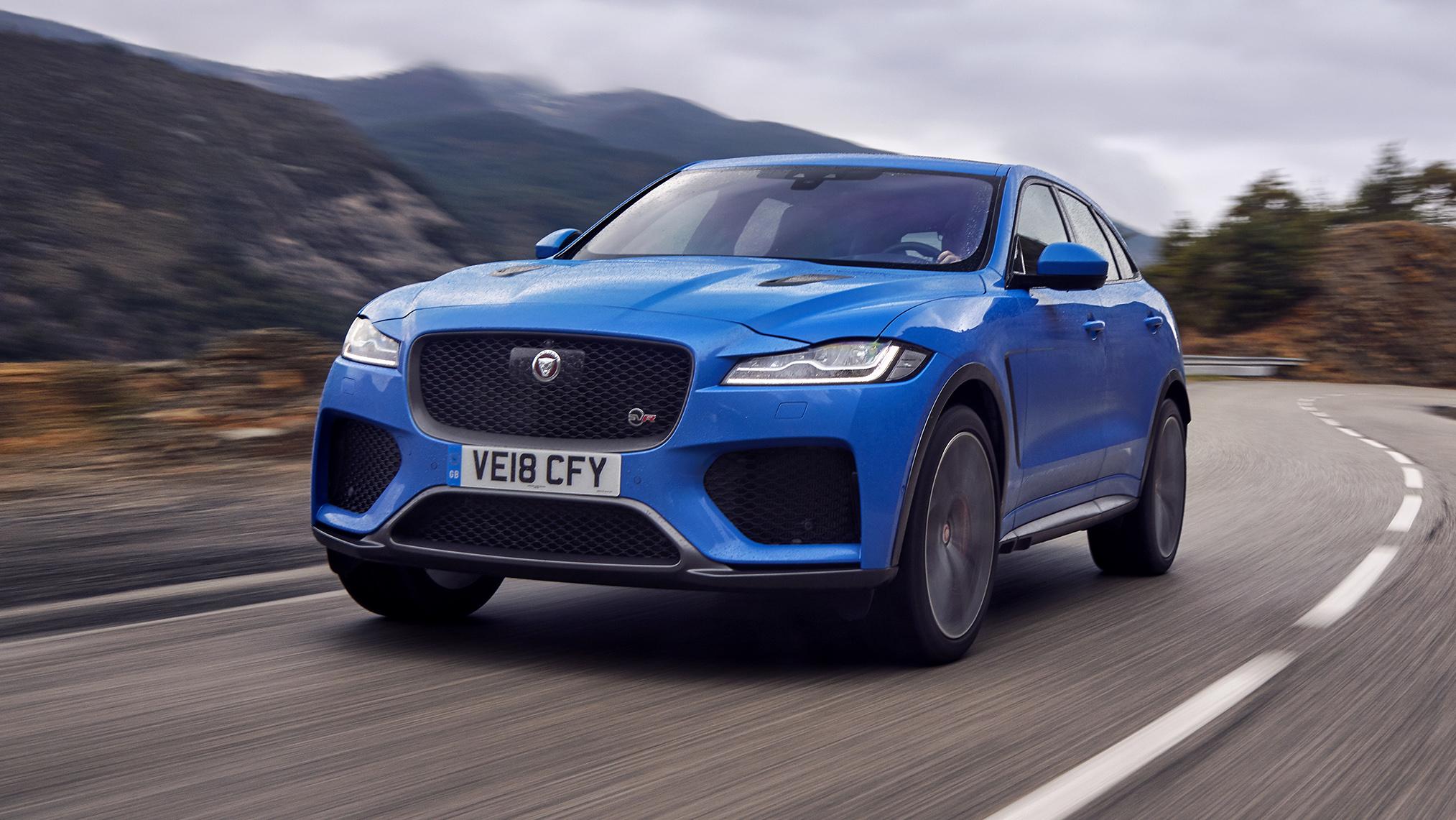 Jaguar F Pace Svr Review Supercharged Stelvio Rival Driven