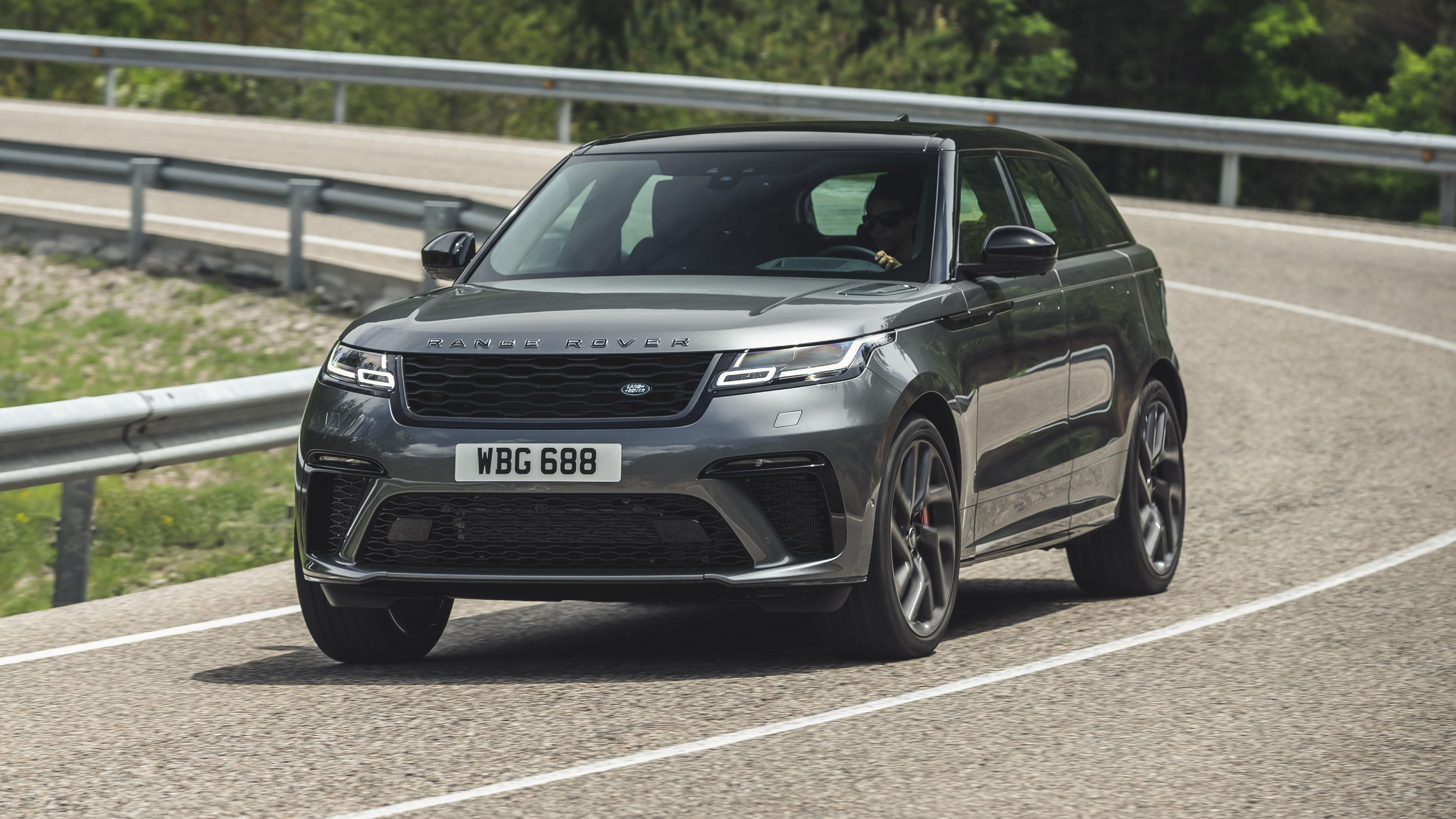Range Rover Velar SVAD review: hot SUV driven   Top Gear