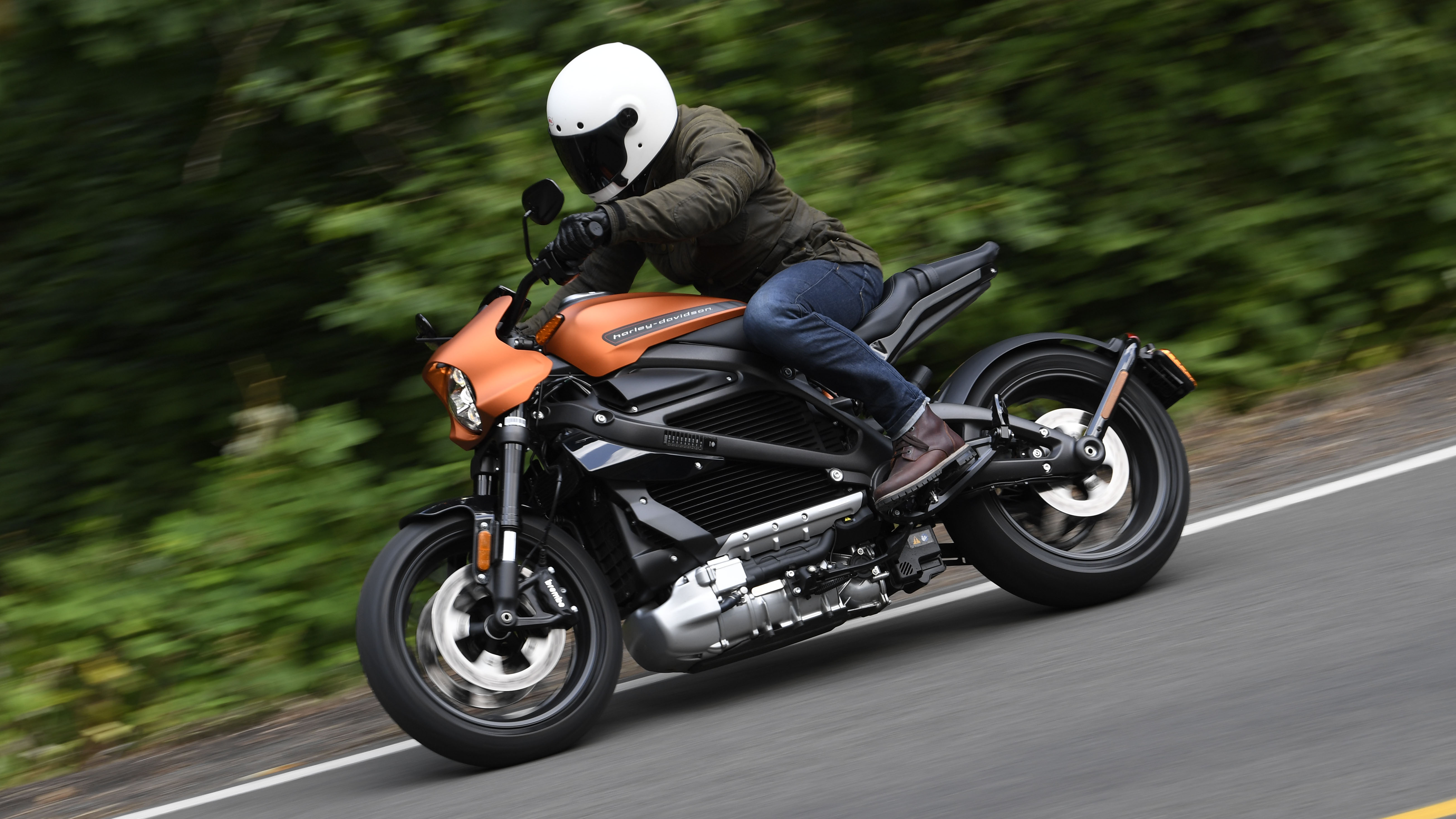 Harley Davidson Livewire review: all-electric bike tested   Top Gear
