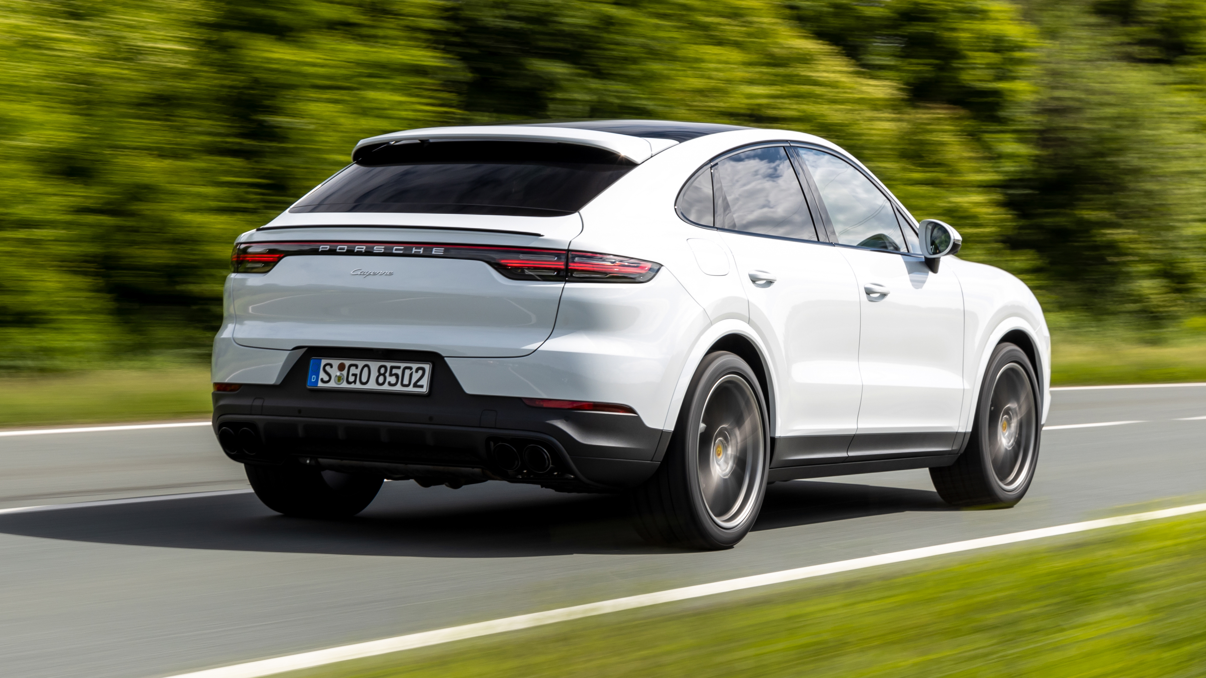 Porsche Cayenne Coupe Review Is The Base Spec Quick Enough Top Gear