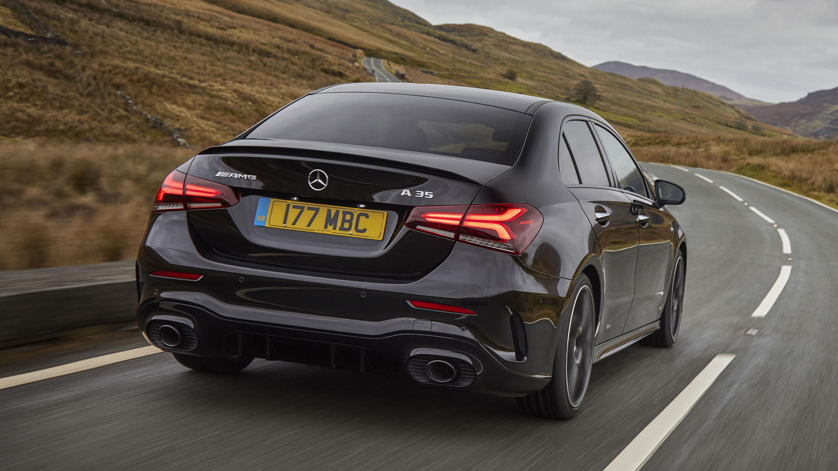 Mercedes A35 Saloon Review Four Door Amg Driven Top Gear