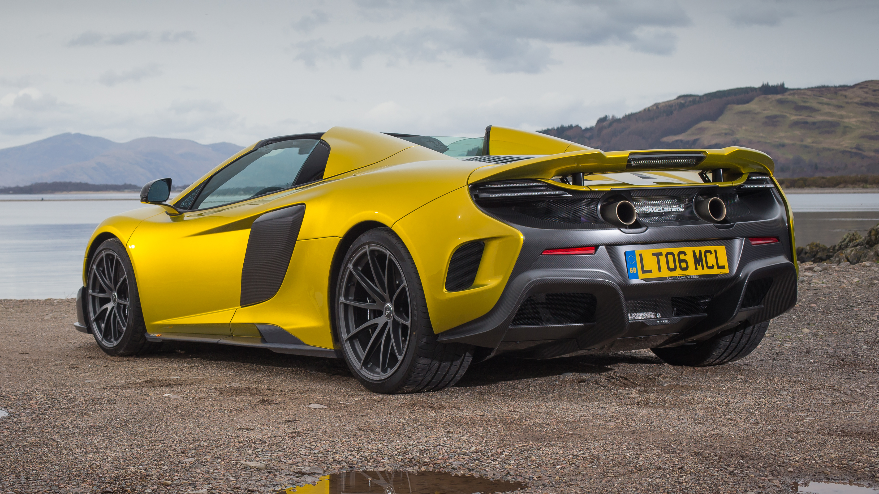 Mclaren 675lt Spider Review Better Than The Coupe Top Gear