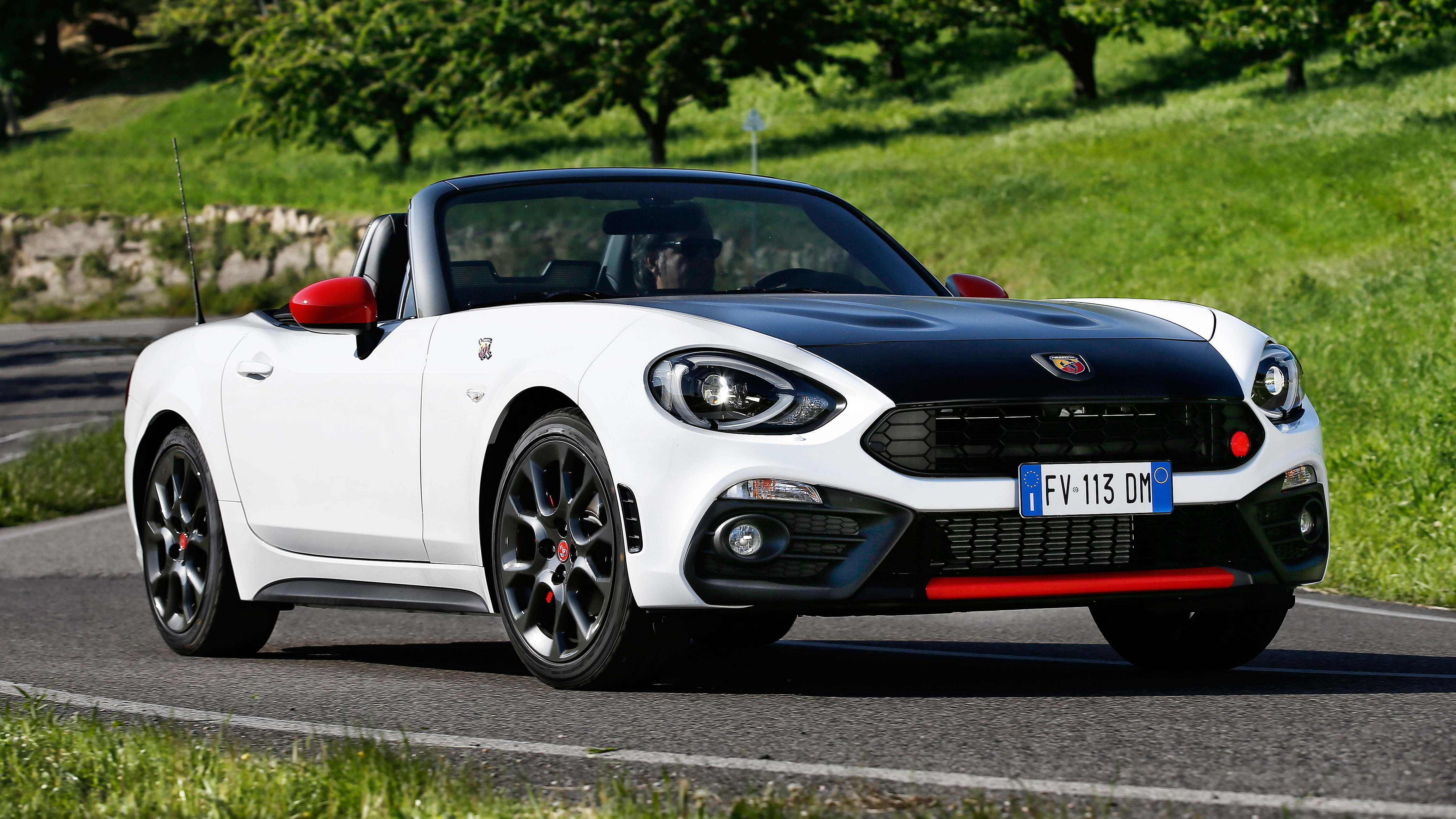 review the abarth 124 spider top gear. Black Bedroom Furniture Sets. Home Design Ideas