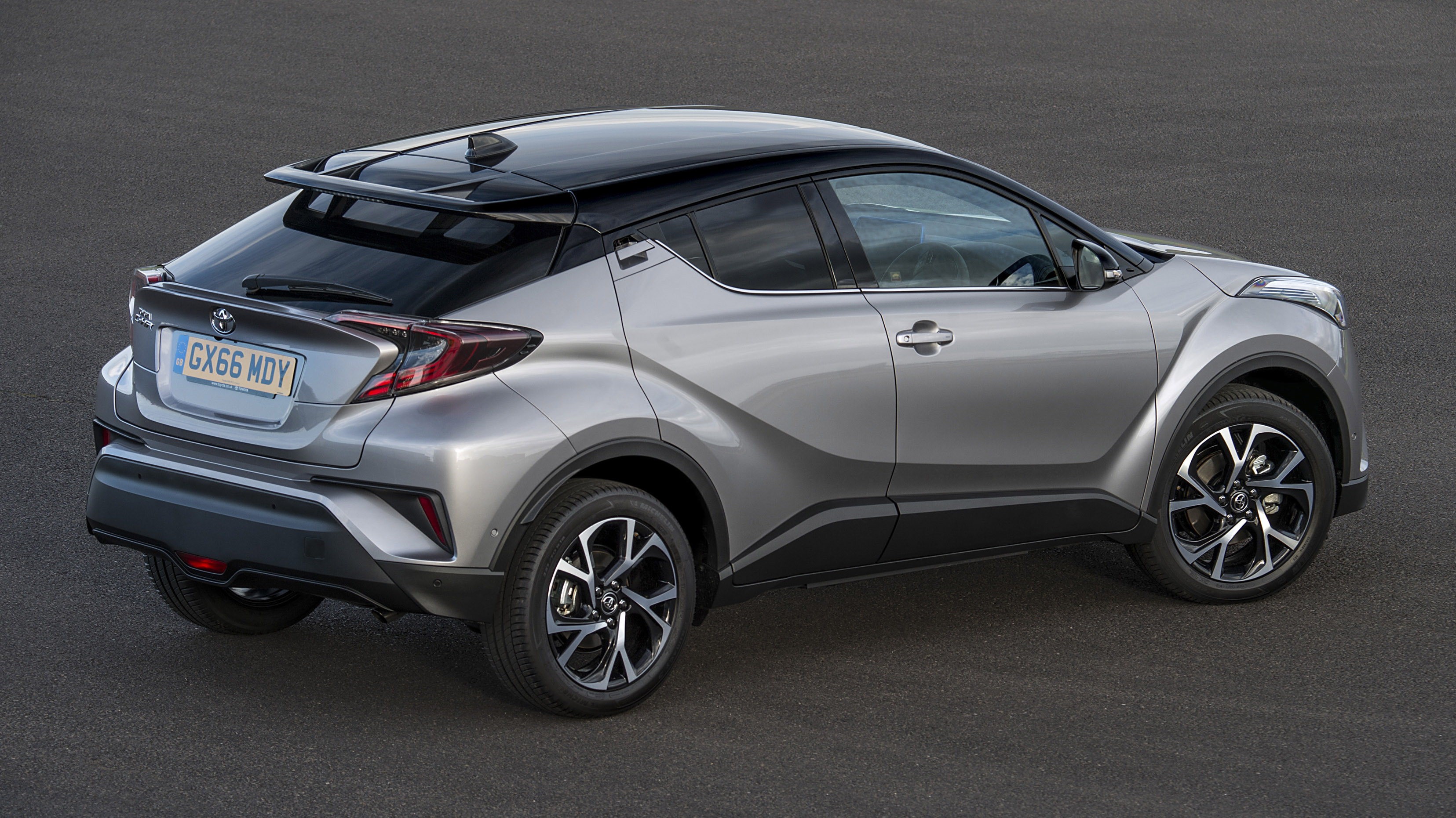 la early ch in r toyota all new crossover lands