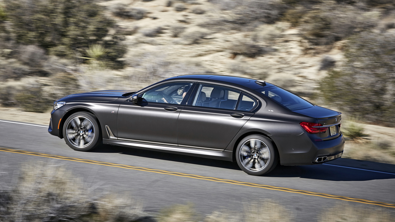 BMW 7 Series review: 602bhp M760 Li driven   Top Gear