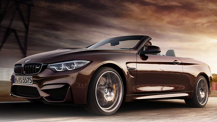 BMW M4 Competition Convertible front quarter