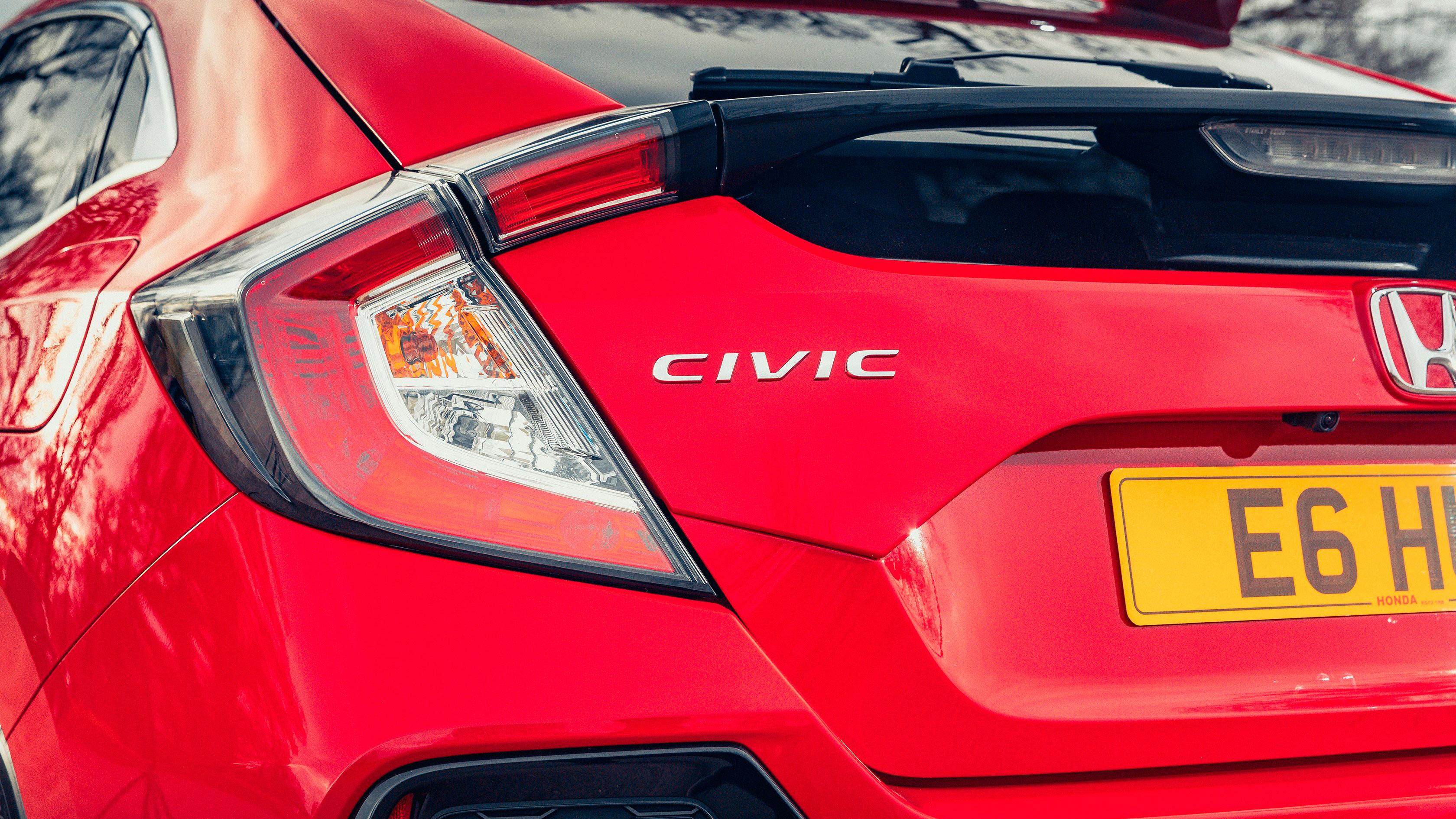 Honda Civic 1.0 vtec turbo rear lights