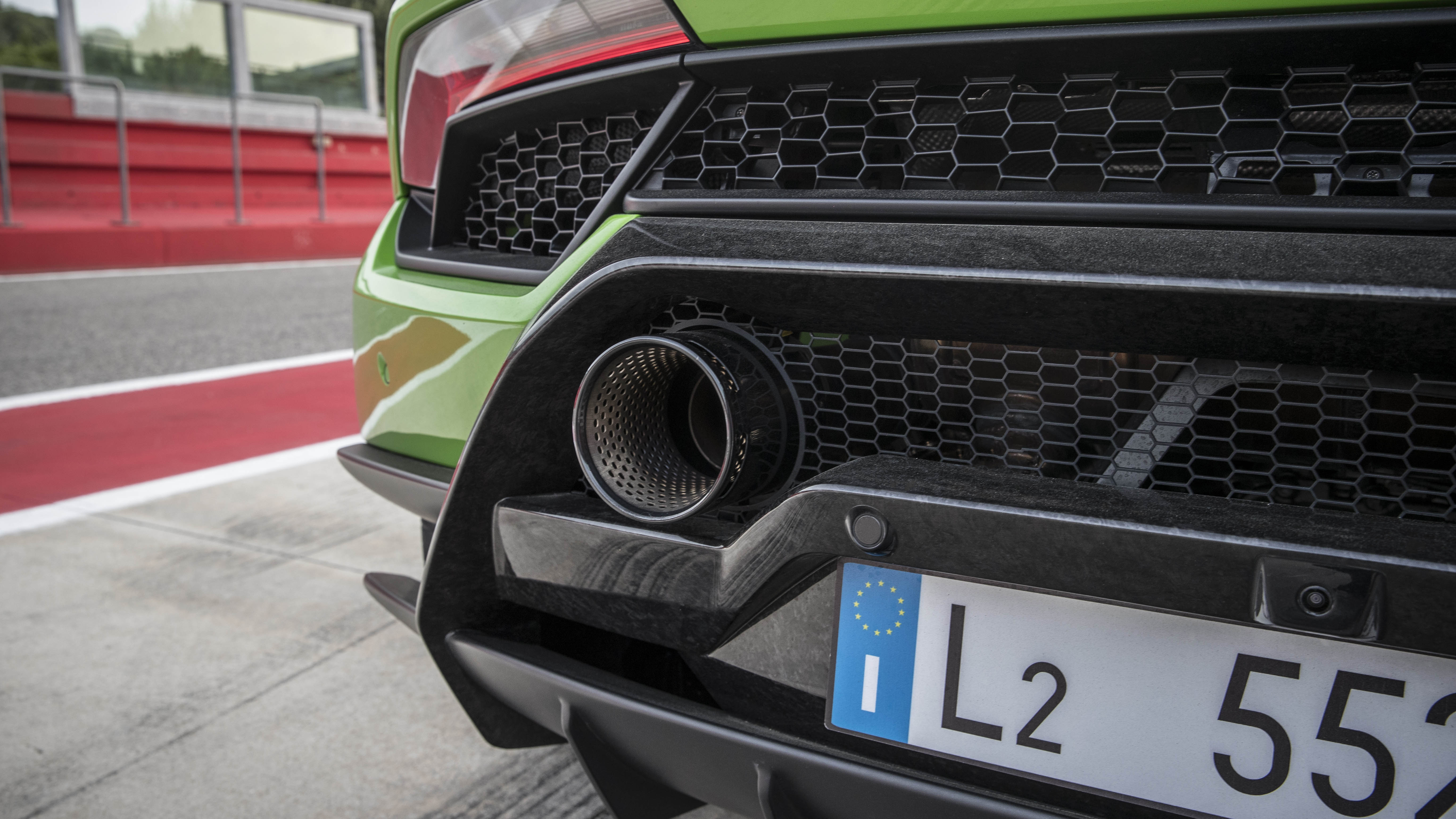 Lamborghini Huracan Performante rear exhaust