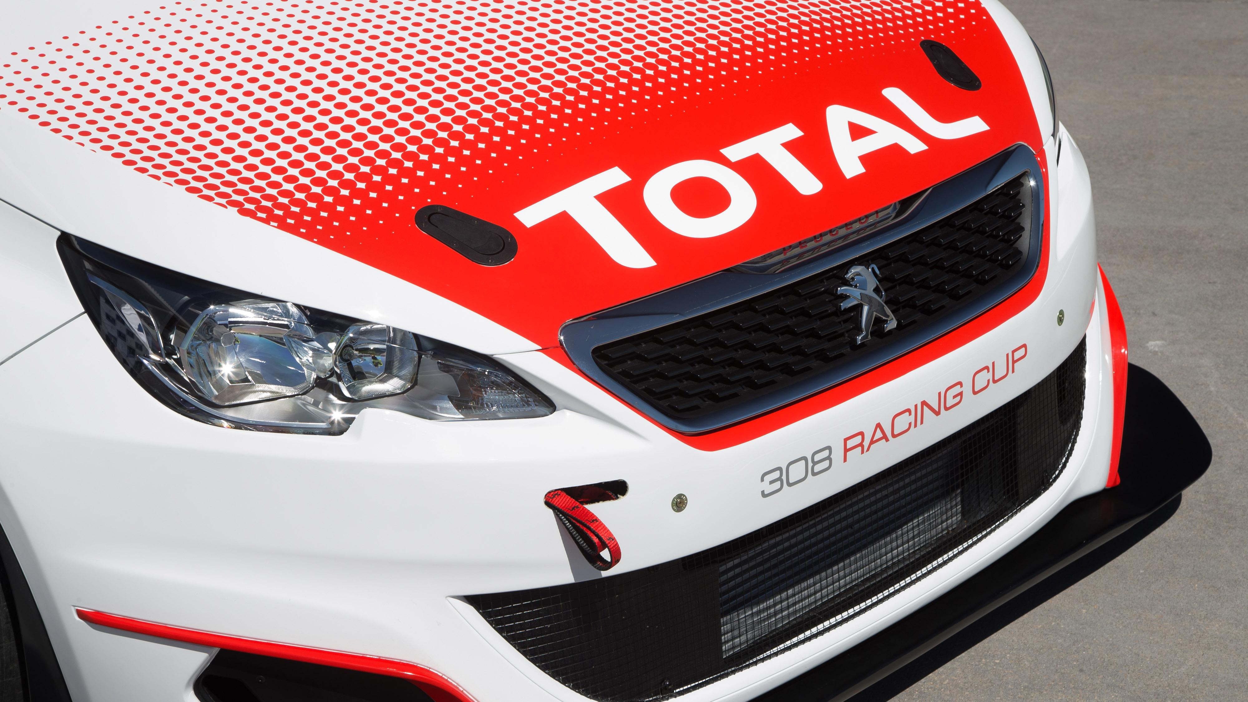 Peugeot 308 GTI Racing Cup front